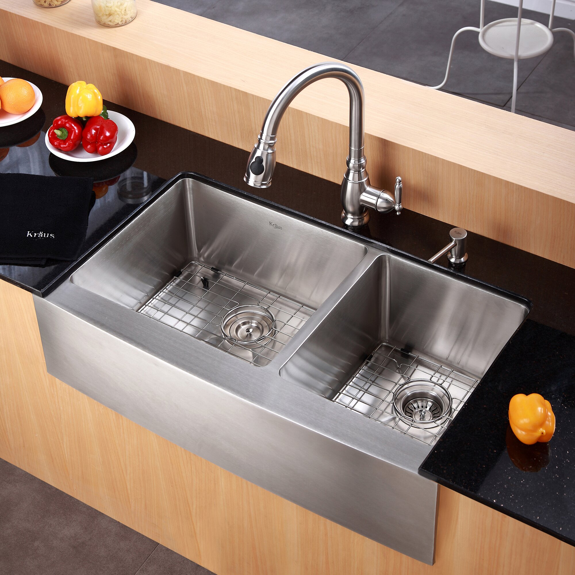 36 Inch Kitchen Sink : Kraus-Farmhouse-36-70-30-Double-Bowl-Kitchen-Sink-KHF-203-36.jpg