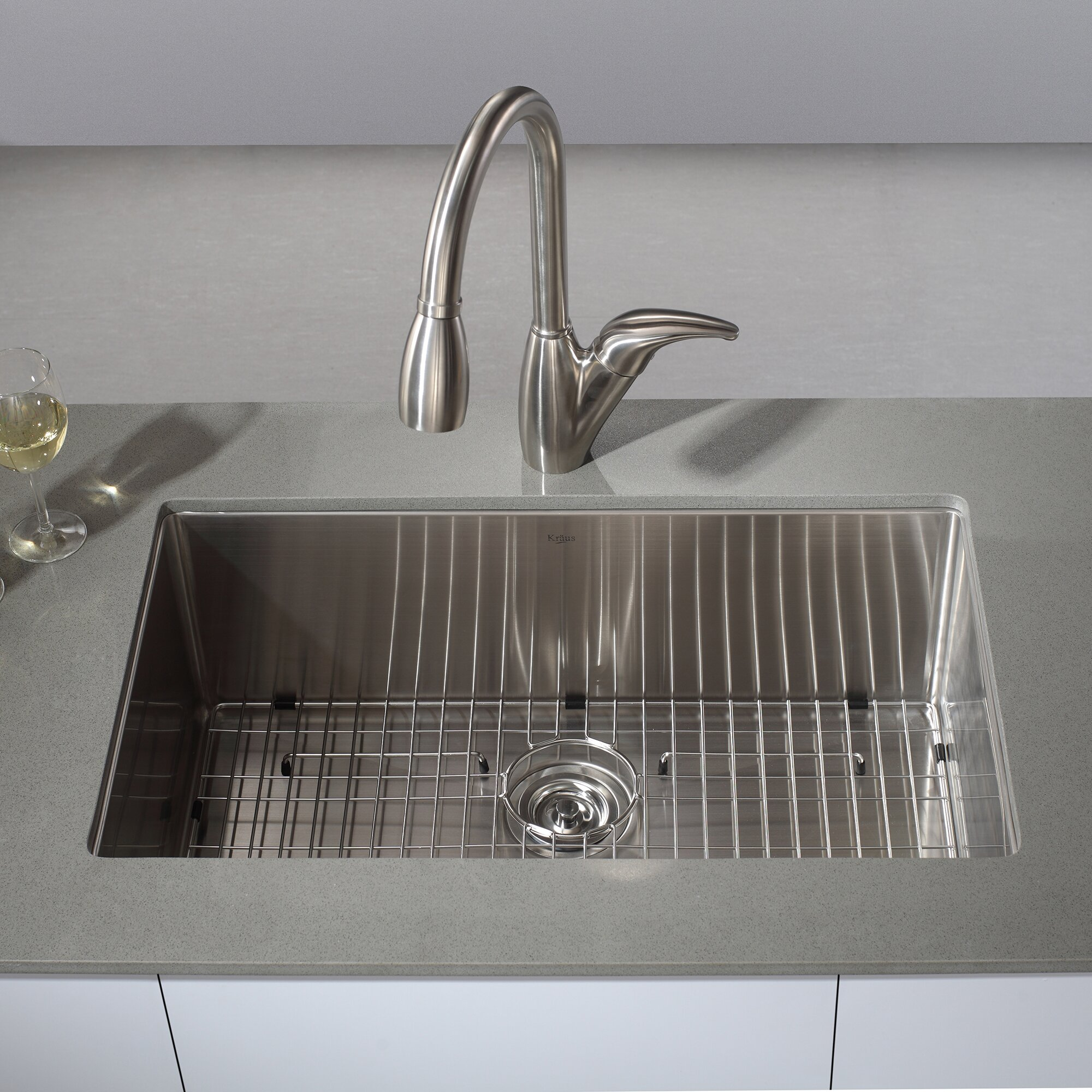 Kitchen Sink Kraus: Kraus Undermount Kitchen Sink & Reviews