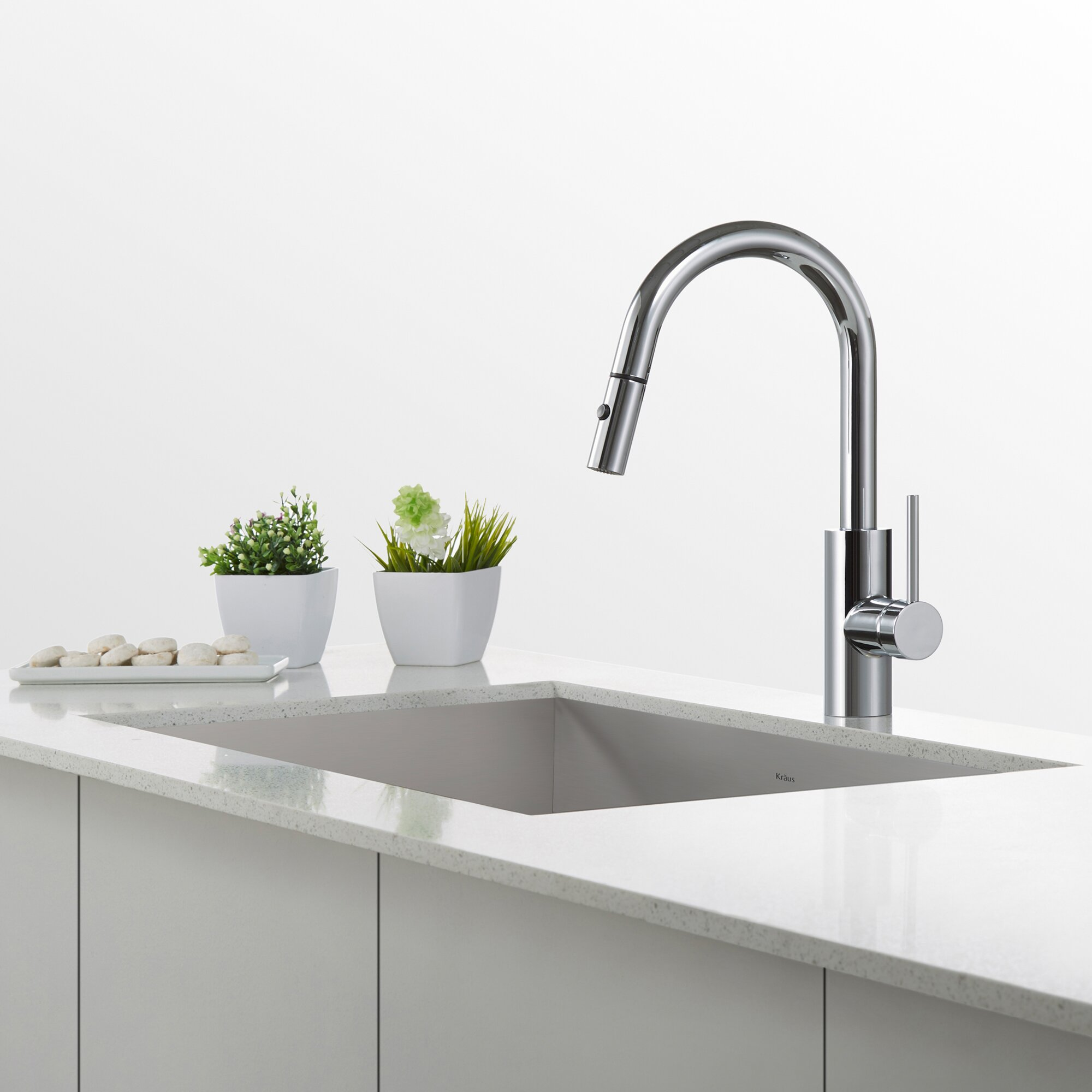 Kraus Mateo Pull Down Kitchen Faucet With Bar Prep Faucet