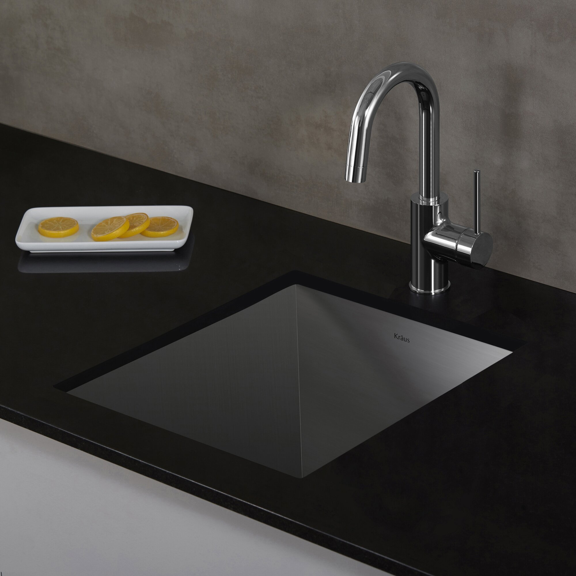 ... Handmade Undermount Single Bowl Stainless Steel Bar Sink Wayfair