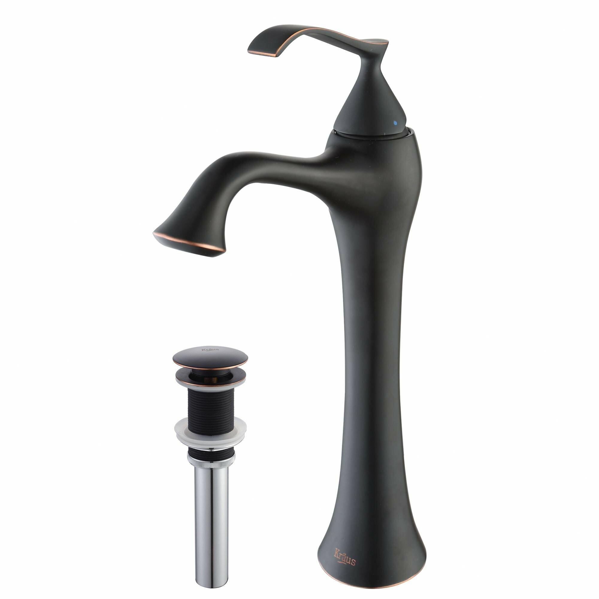 Ventus Single Hole Bathroom Faucet with Single Handle Wayfair