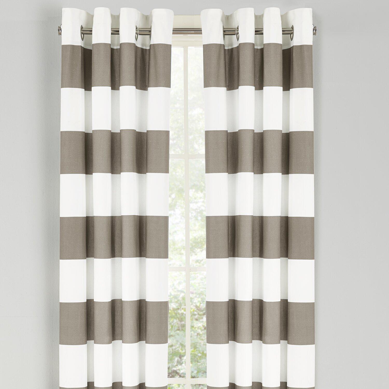 Nautica Nautica Cabana Stripe Drape Curtain Panel