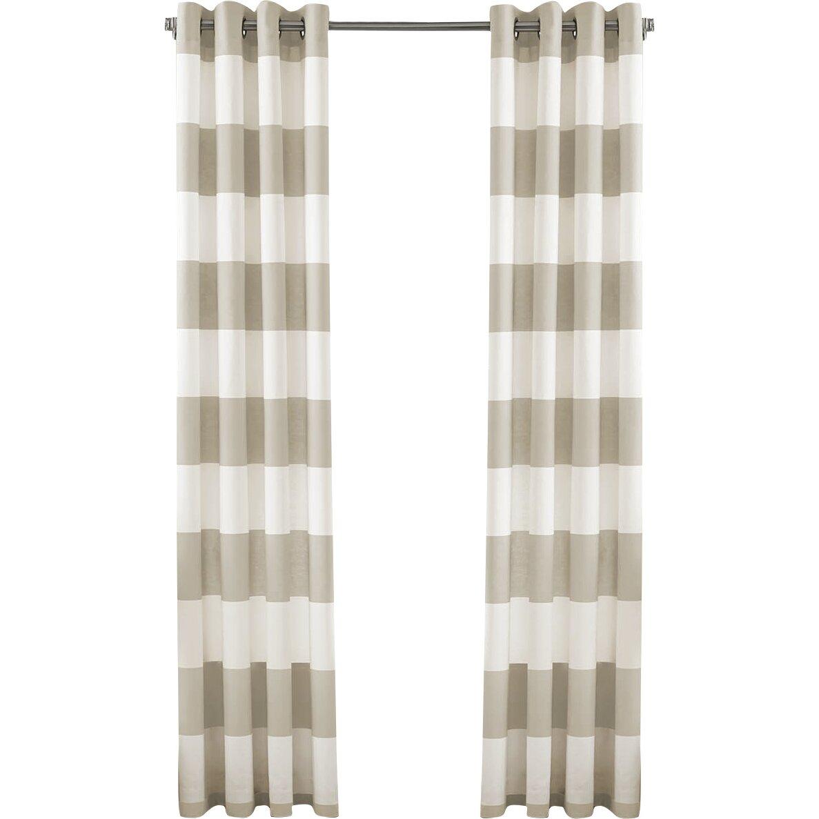 Cabana Stripe Drape Panel Wayfair
