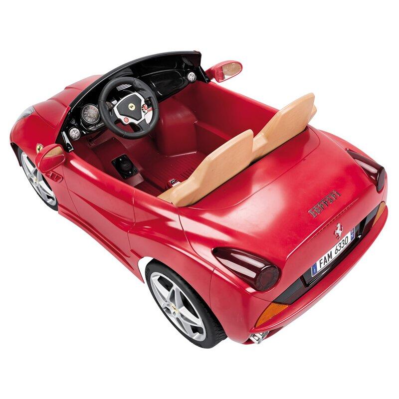 Big Toys Feber Ferrari California 12V Battery Powered Car ...