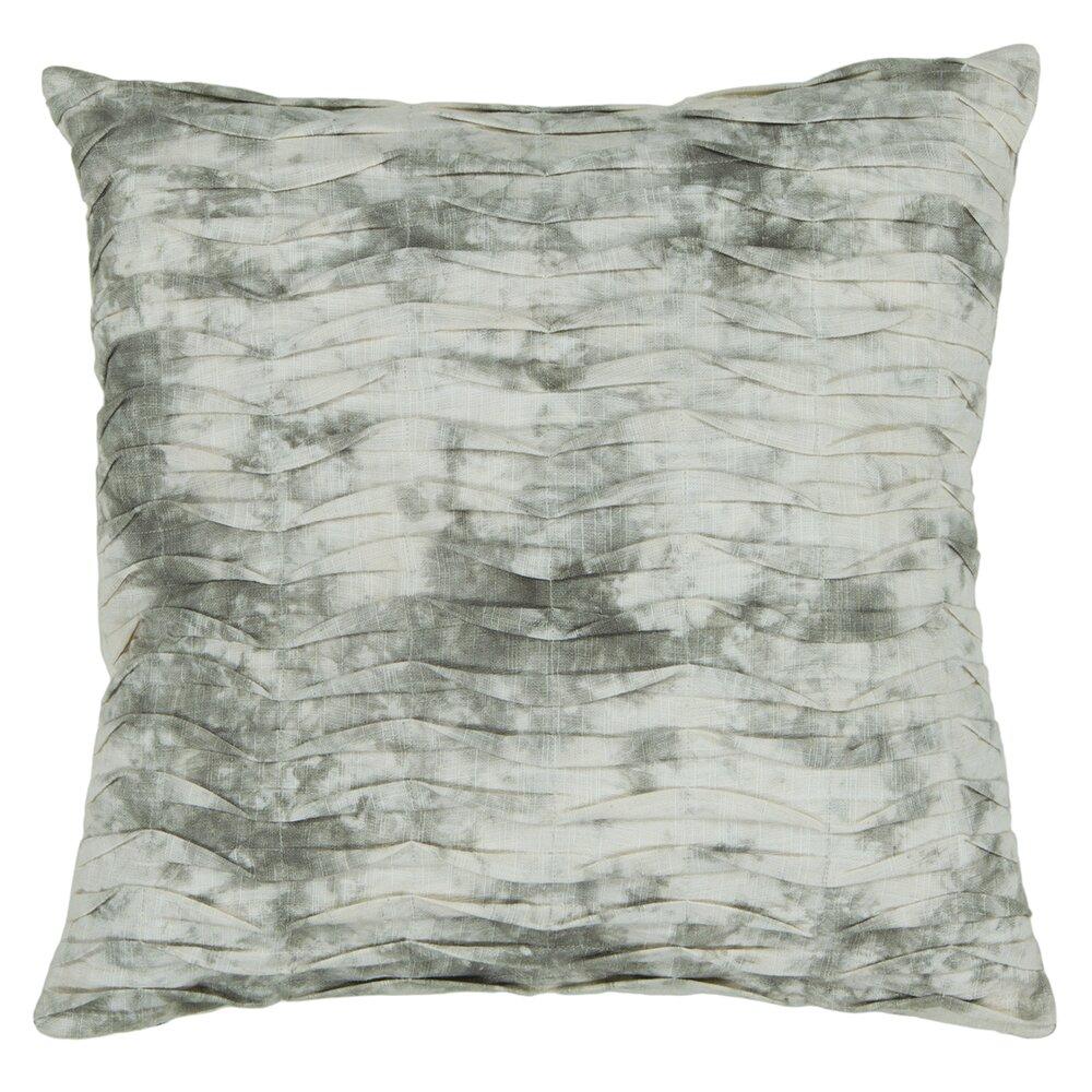 Chandra Textured Contemporary Cotton Throw Pillow AllModern