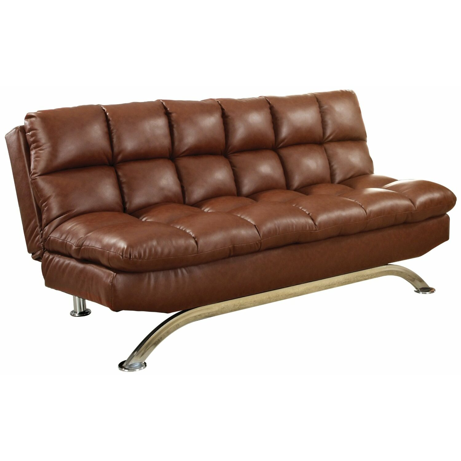 Convertible Ottoman Chair Costco: Hokku Designs Aristo Convertible Sofa & Reviews