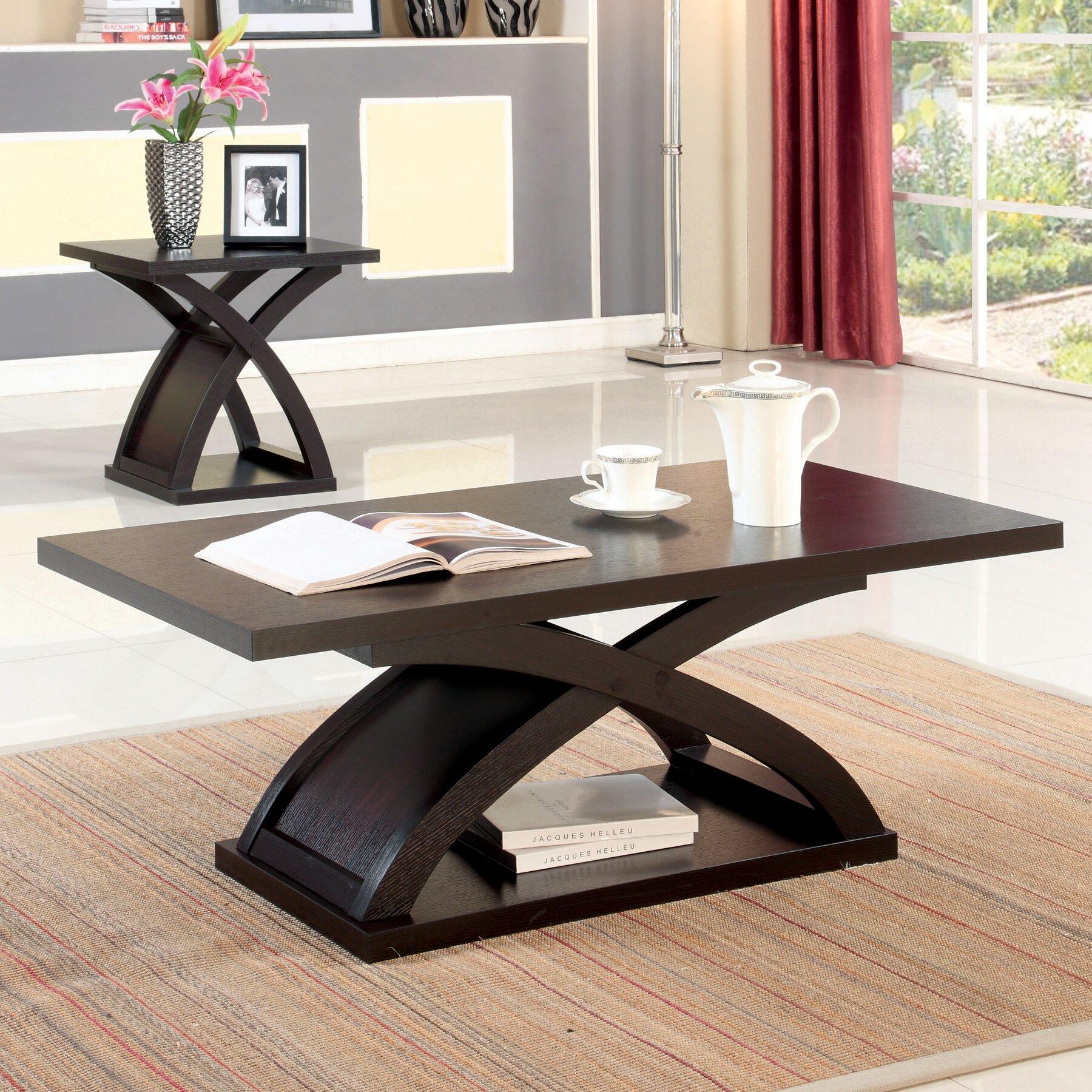 hokku designs gnarls coffee table reviews wayfair. Black Bedroom Furniture Sets. Home Design Ideas