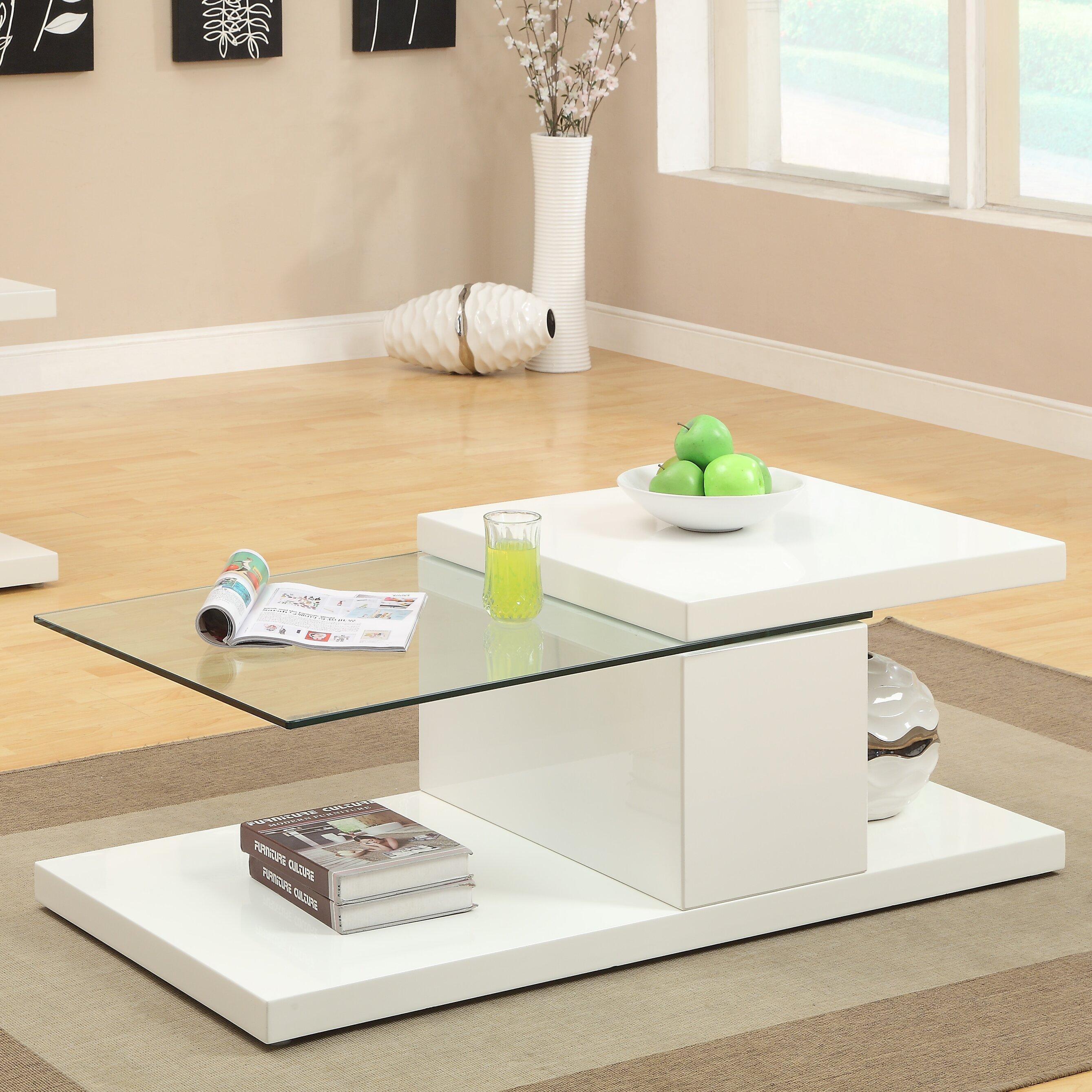 Hokku Designs Monda Swivel Coffee Table & Reviews