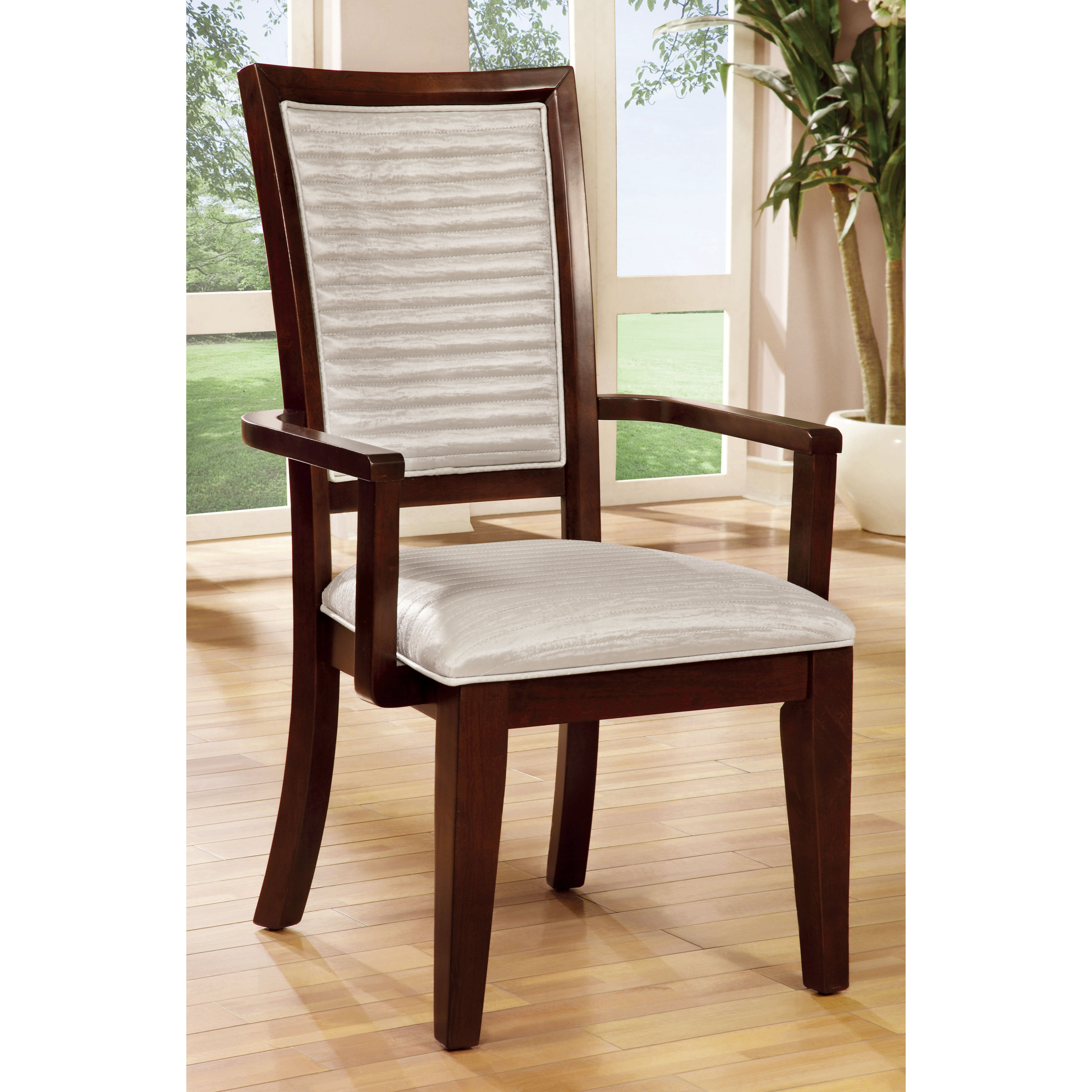 Dining Room Chairs With Arms: Bisset Dining Arm Chair
