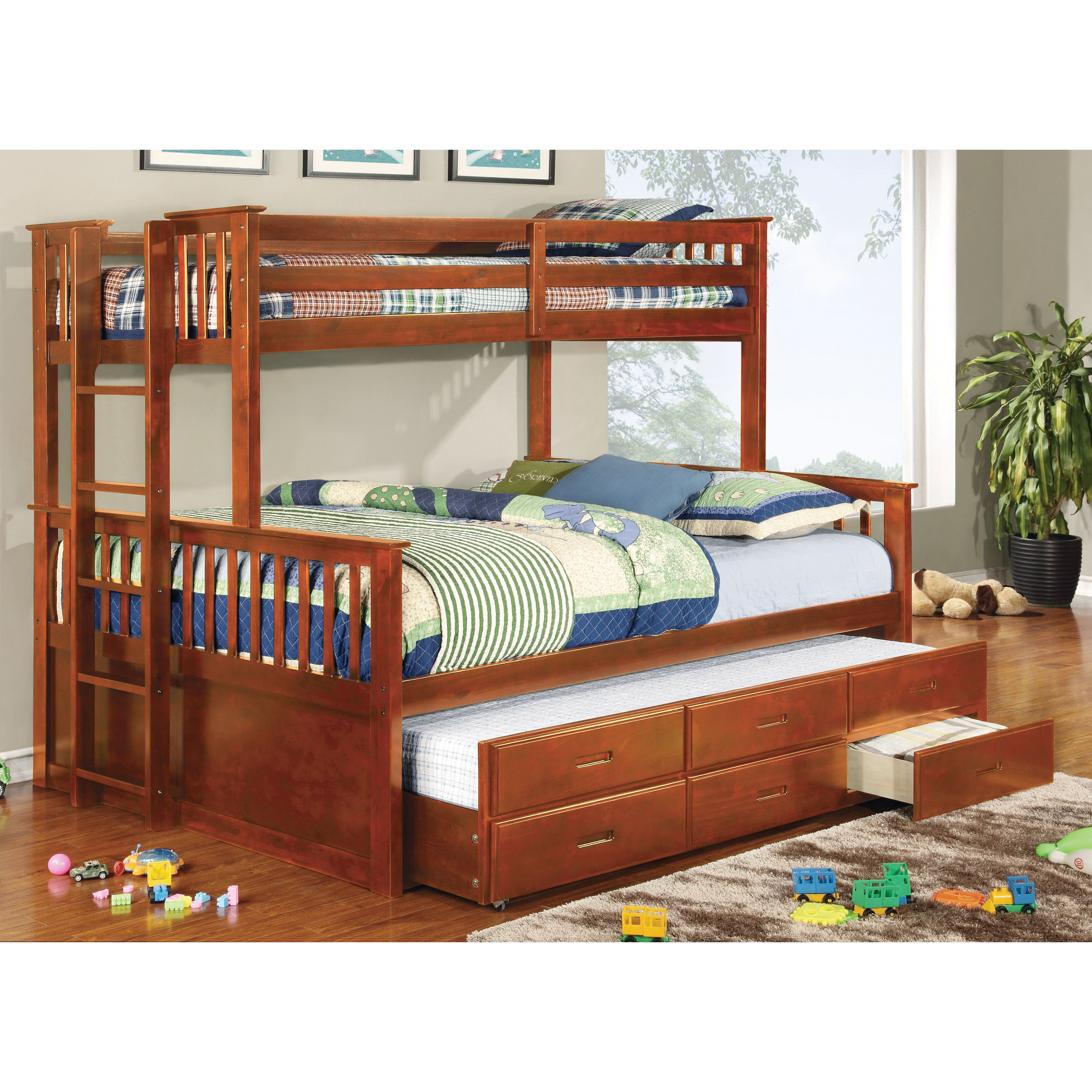 Hokku Designs Emmerson Twin Over Queen Bunk Bed Amp Reviews