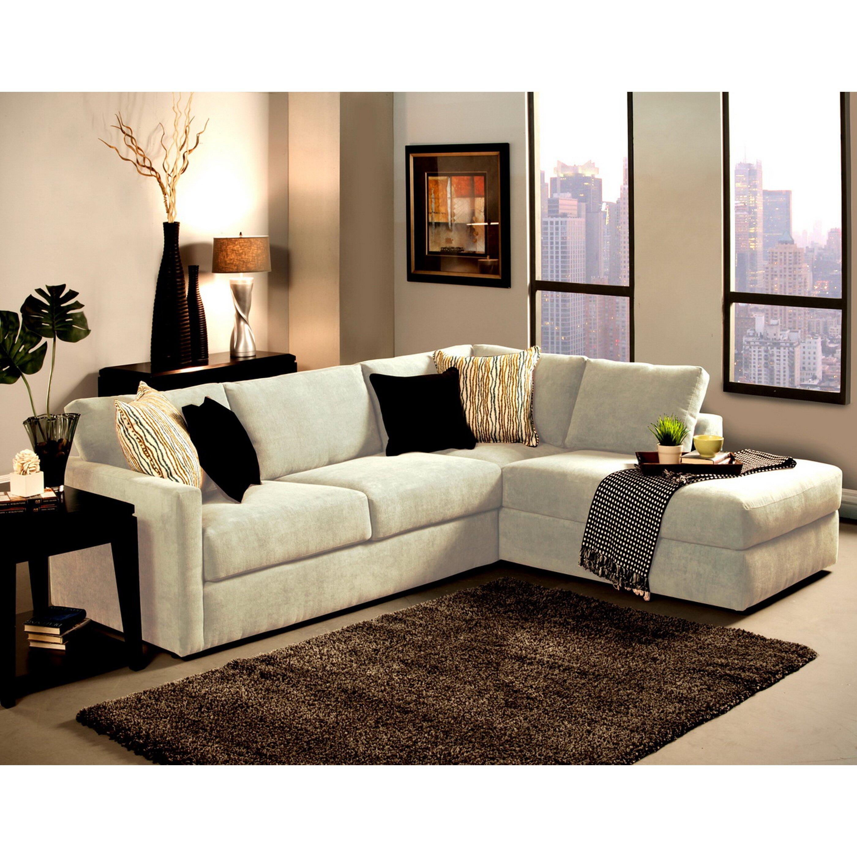 Hokku designs ostala sectional reviews wayfair for Hokku designs living room furniture