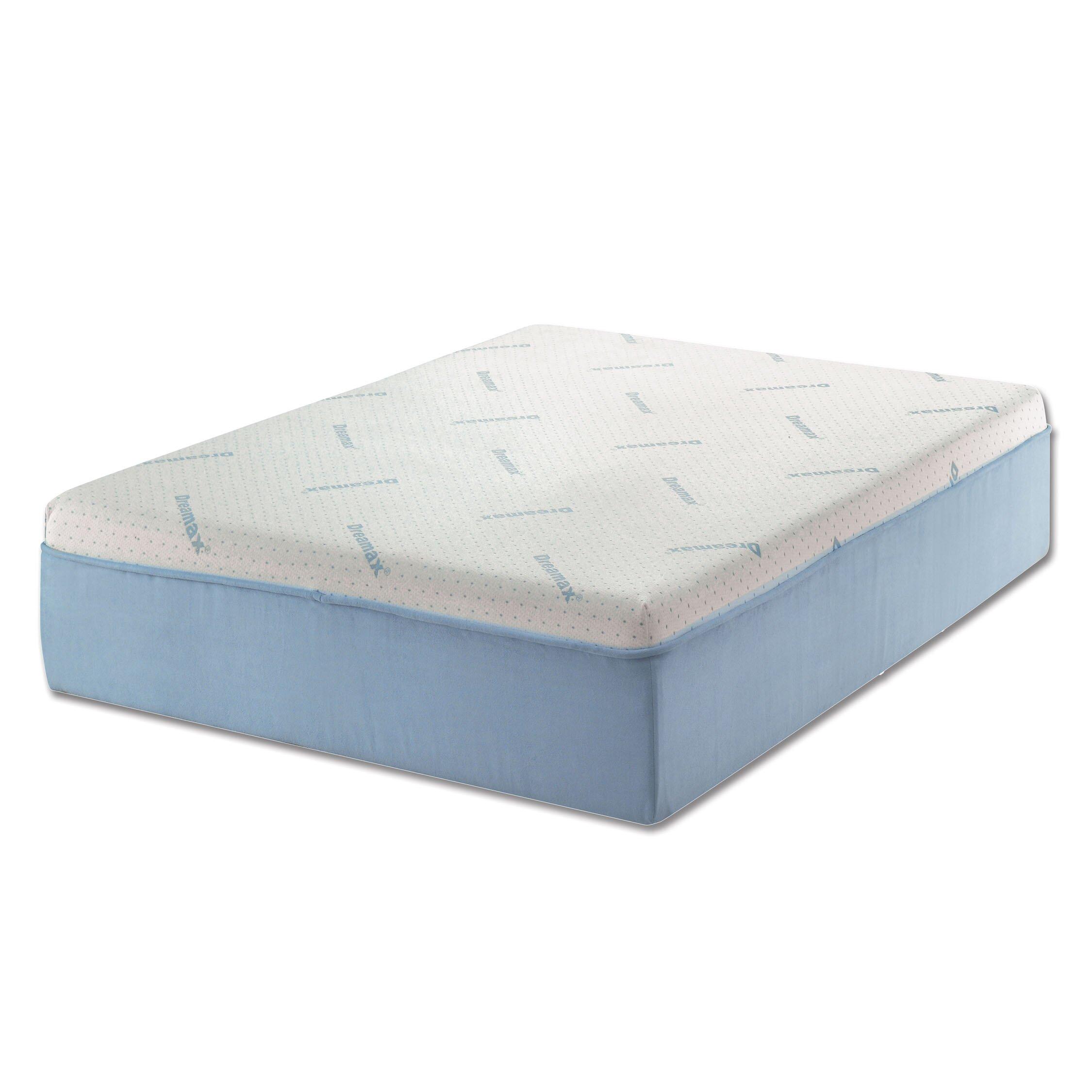 artesia 12 marble visco gel memory foam non flip mattress. Black Bedroom Furniture Sets. Home Design Ideas