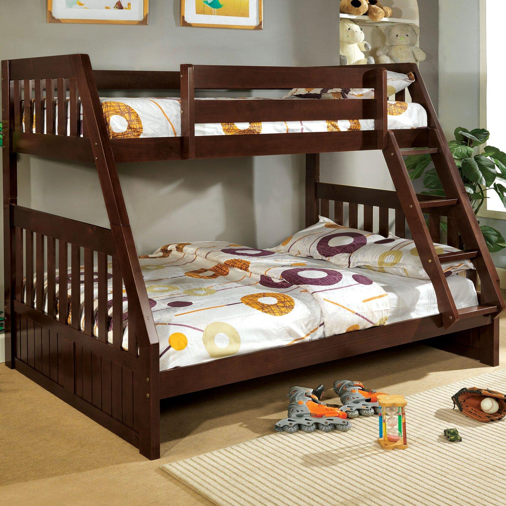 Bunk Bedideas: Hokku Designs Logan Twin Over Full Bunk Bed & Reviews