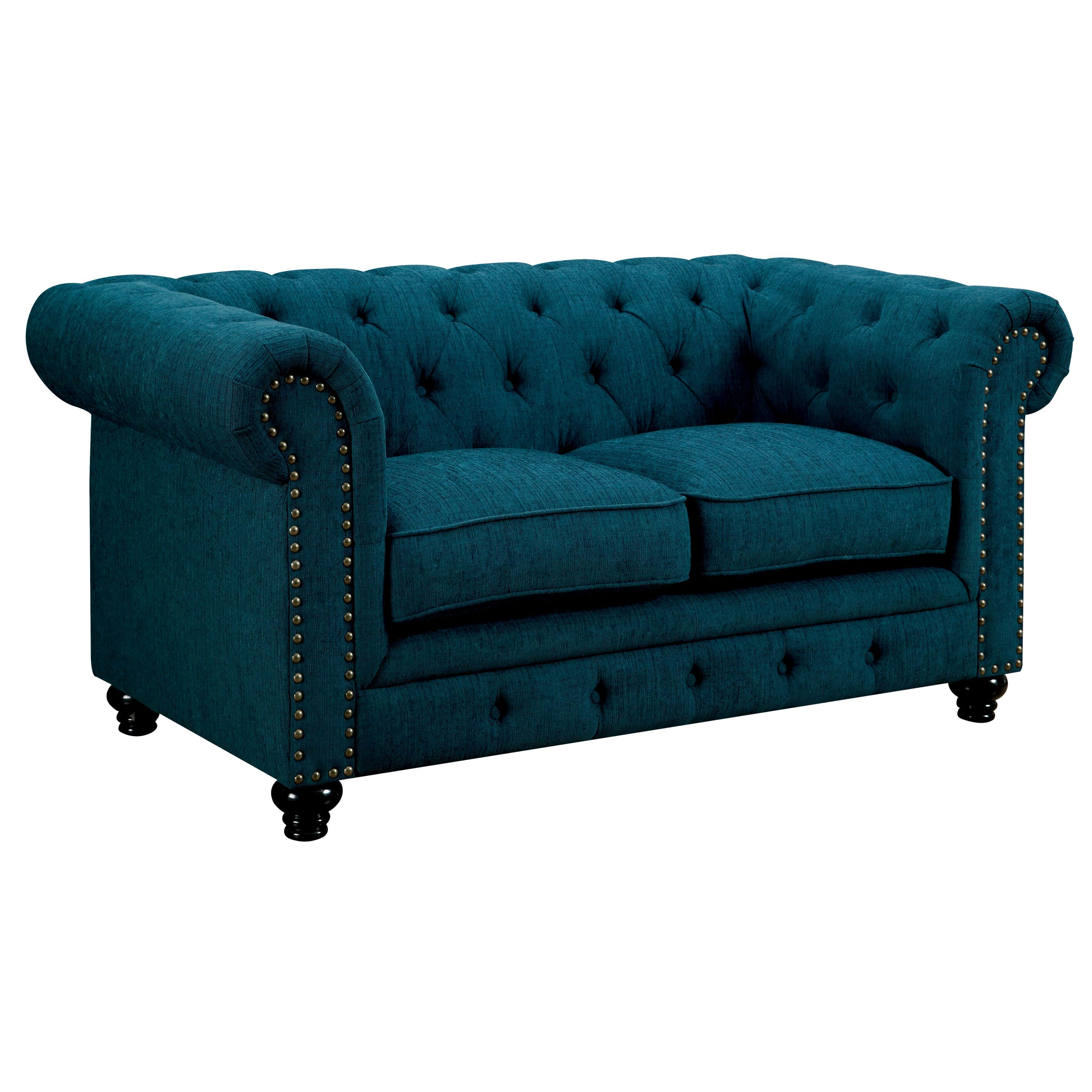 Cedric Tufted Loveseat Wayfair