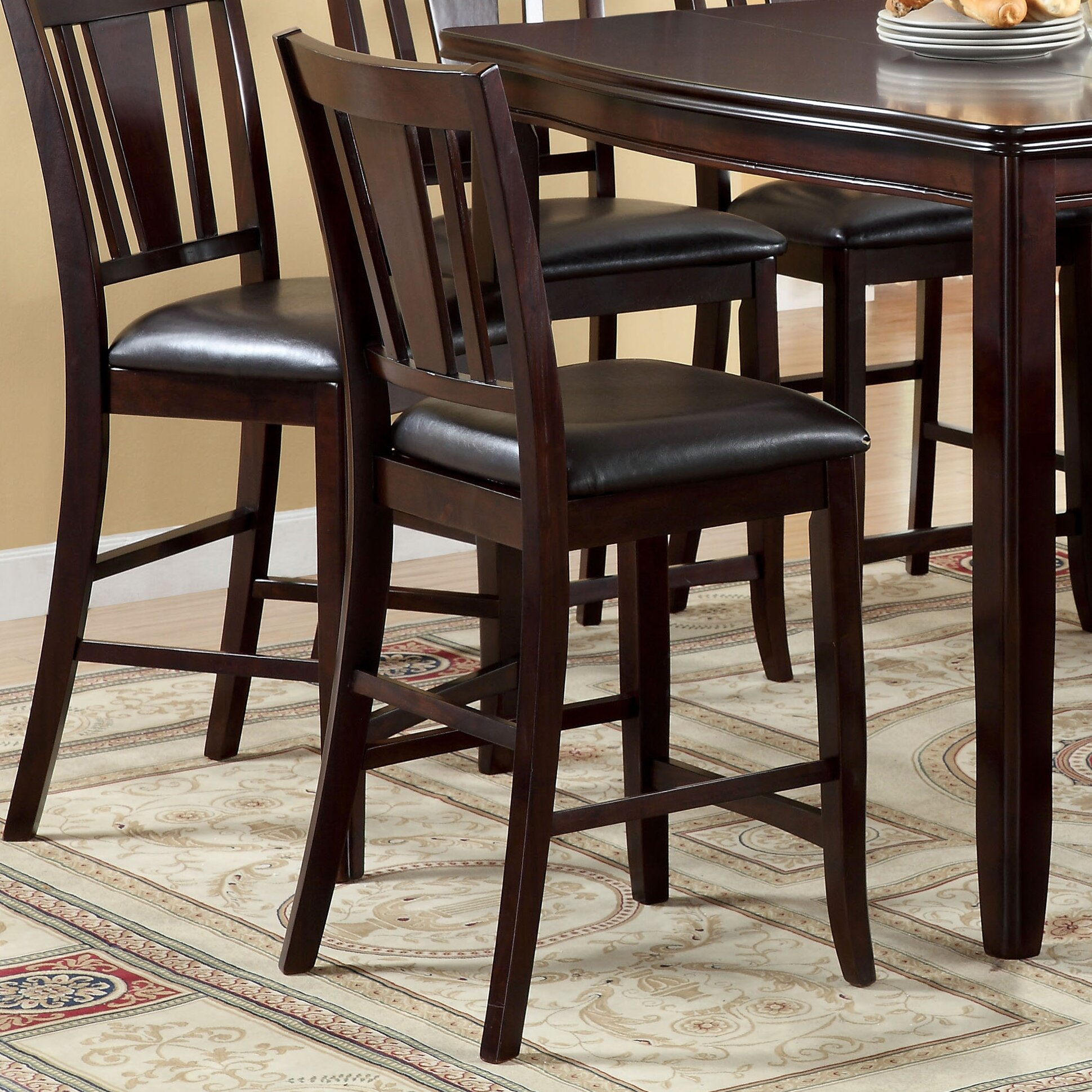 7 Piece Counter Height Dining Room Sets: Nappa 7 Piece Counter Height Dining Set
