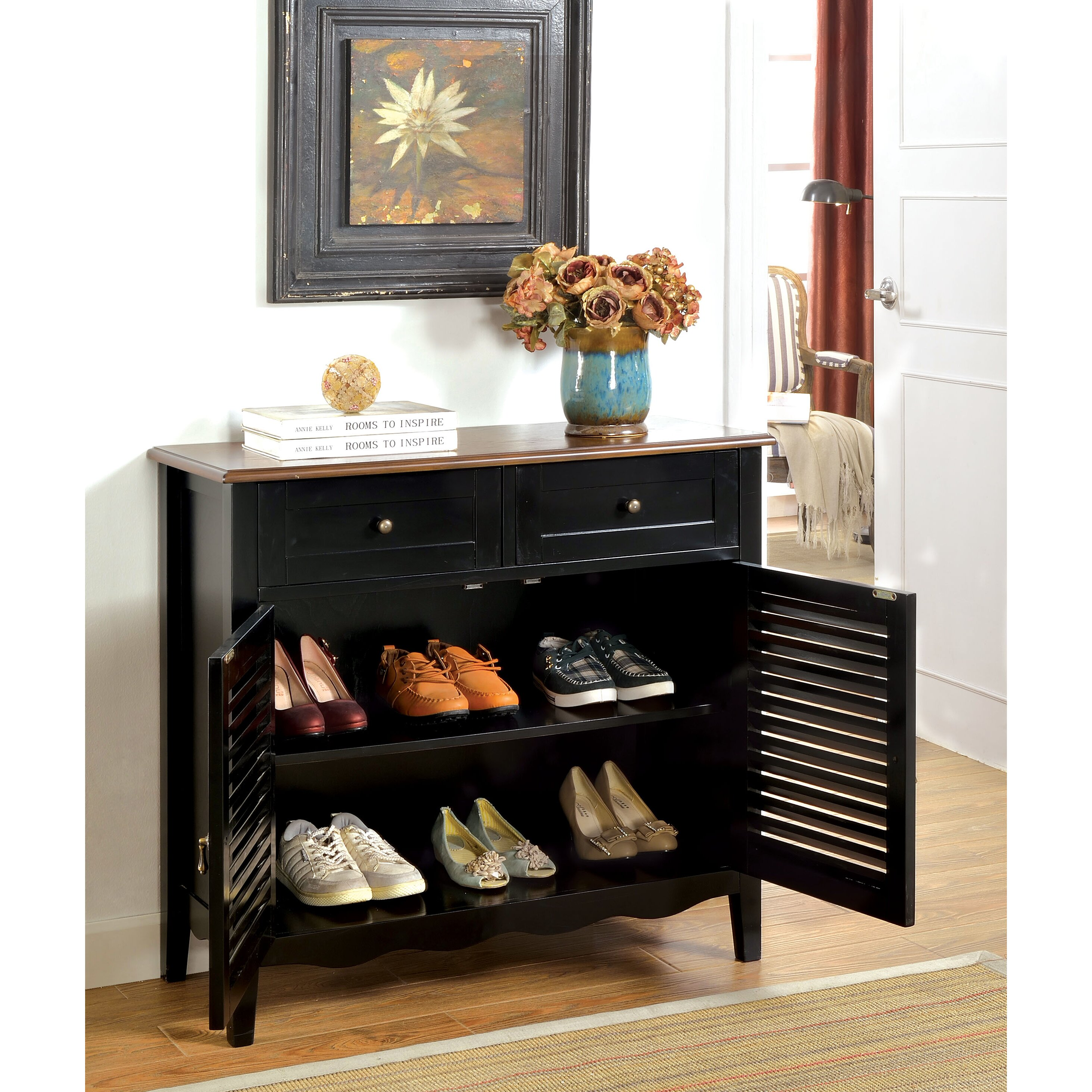 Hokku Designs Soniya 8 Pair Shoe Storage Cabinet