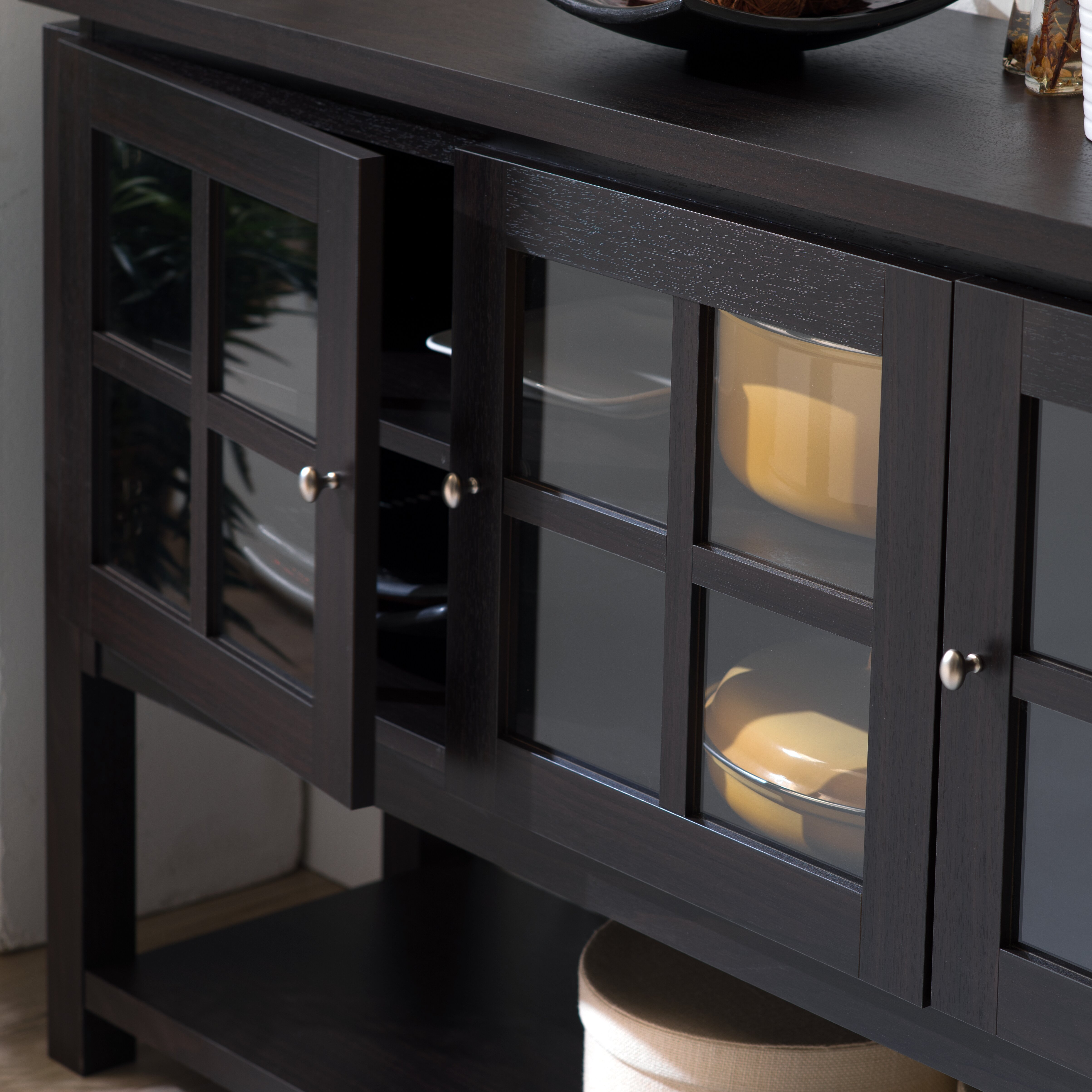 Dining Room Buffet Cabinet: Hokku Designs Mavado Dining Buffet & Reviews