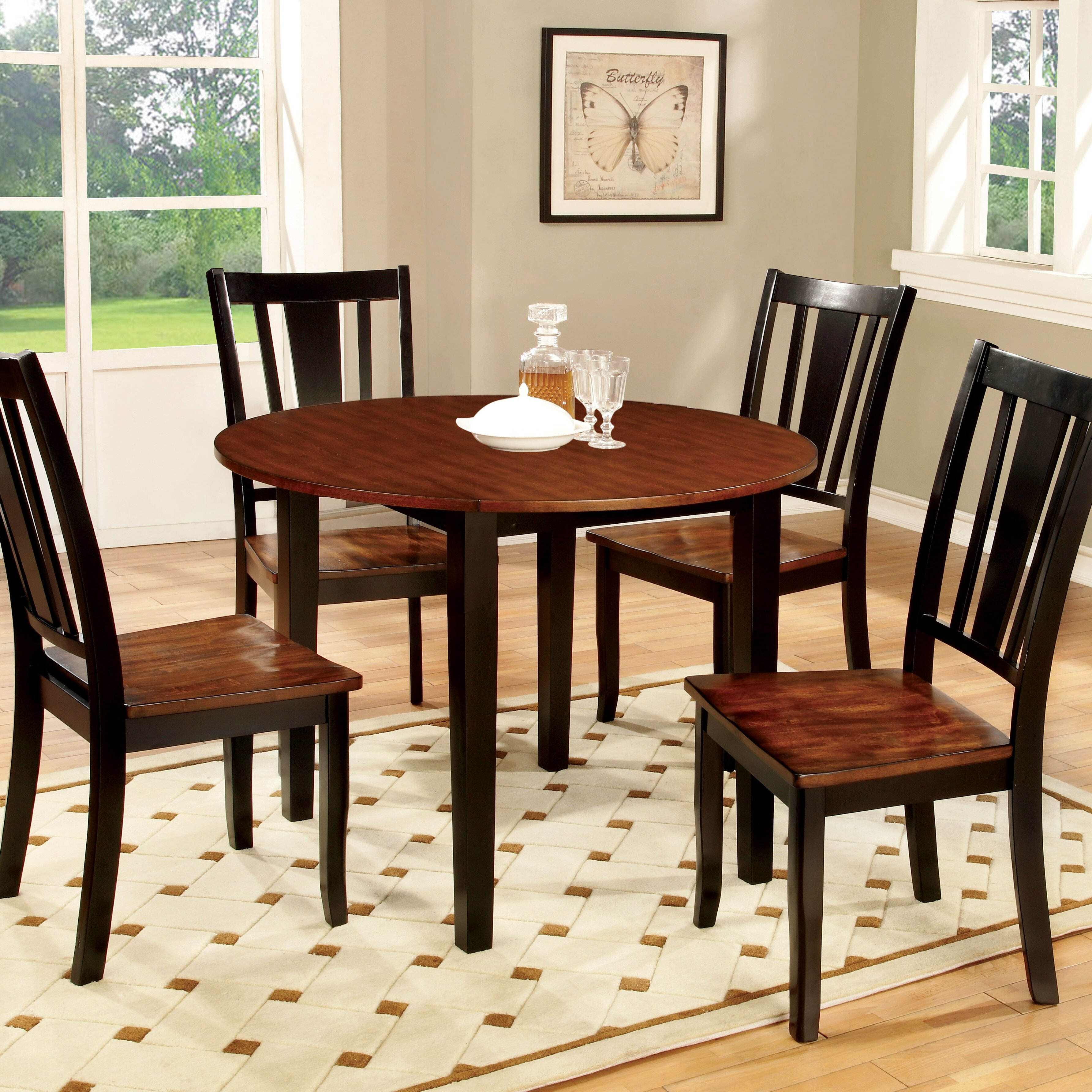 Althea Dining Table Wayfair : Althea Transitional Round Table from www.wayfair.com size 3568 x 3568 jpeg 2188kB