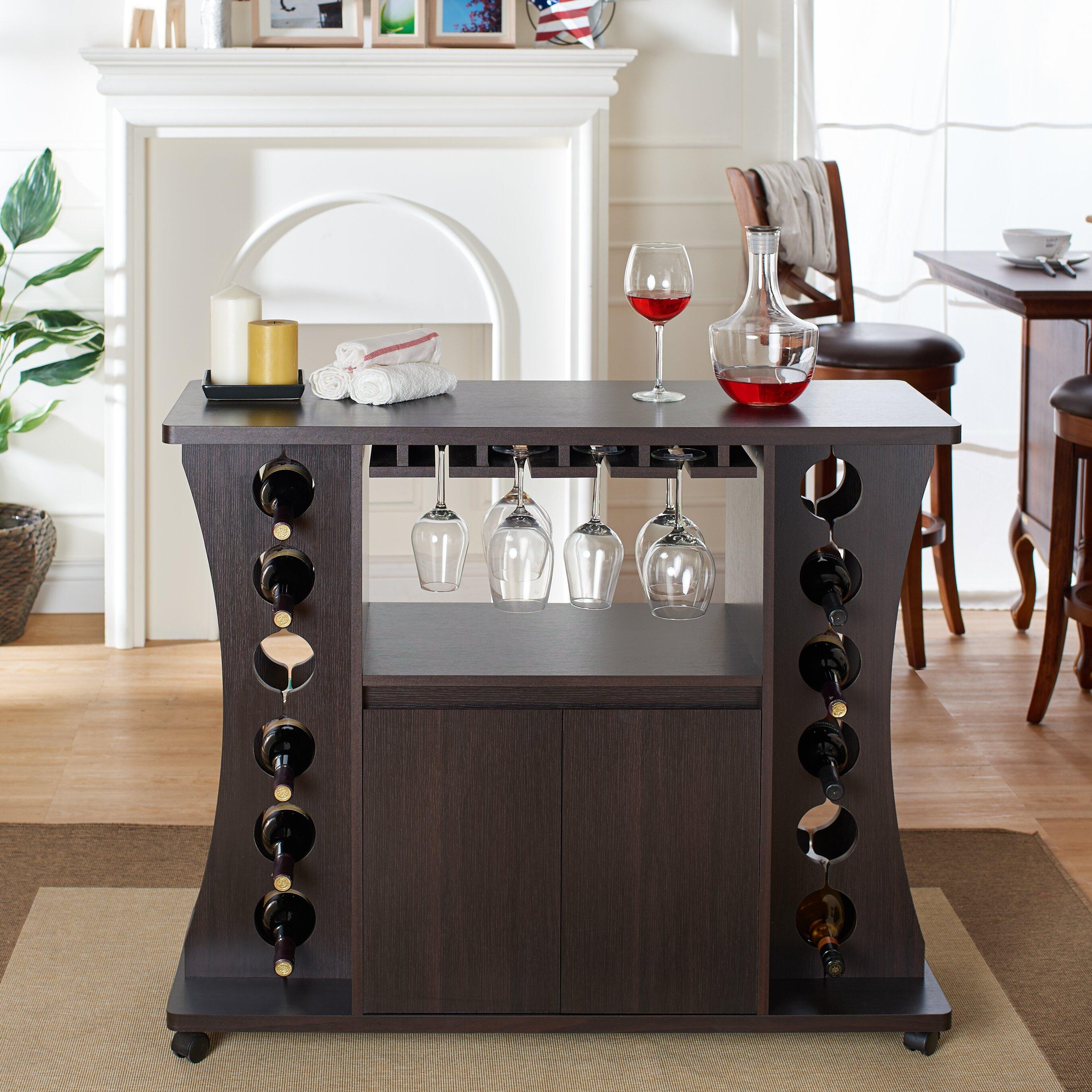 Hokku Designs Cordelia 12 Bottle Wine Bar & Reviews
