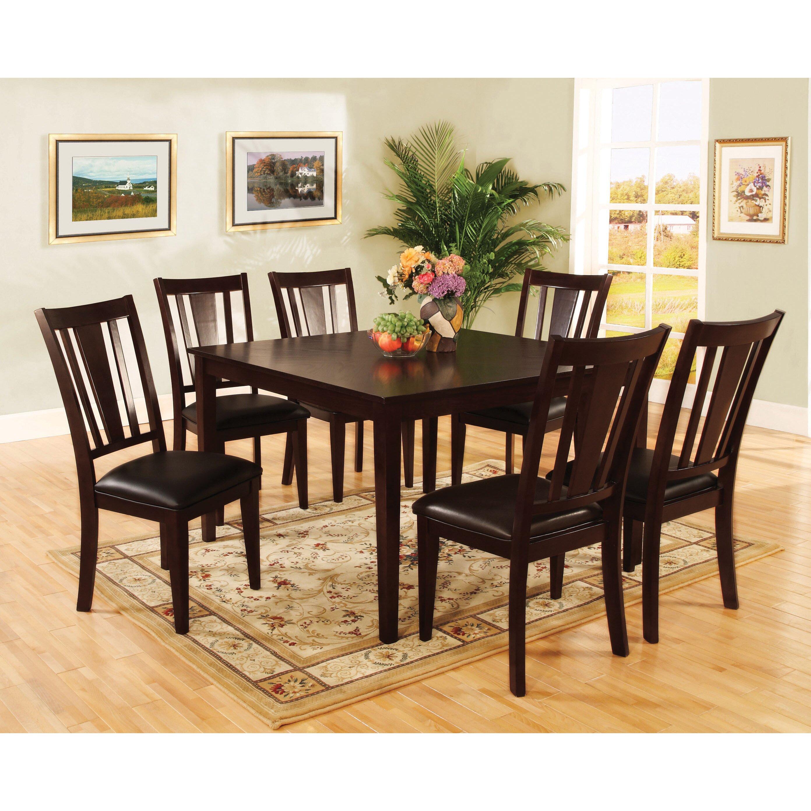 7 Piece Dinette Sets: Hokku Designs Bridgette 7 Piece Dining Set & Reviews