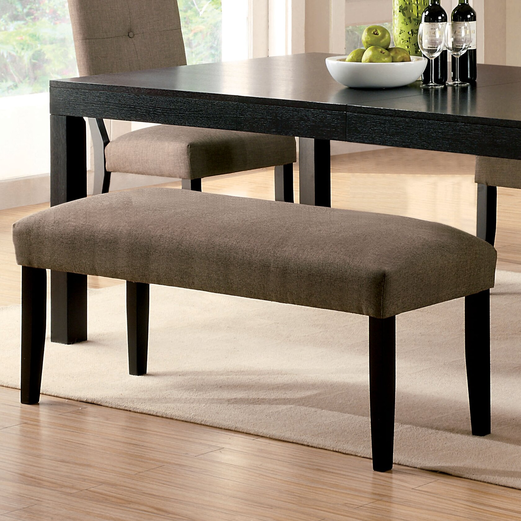 Hokku Designs Two Seat Bench Reviews Wayfair