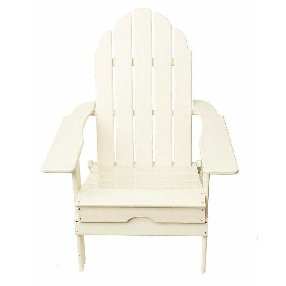 Recycled Plastic Poly Adirondack Chair Wayfair