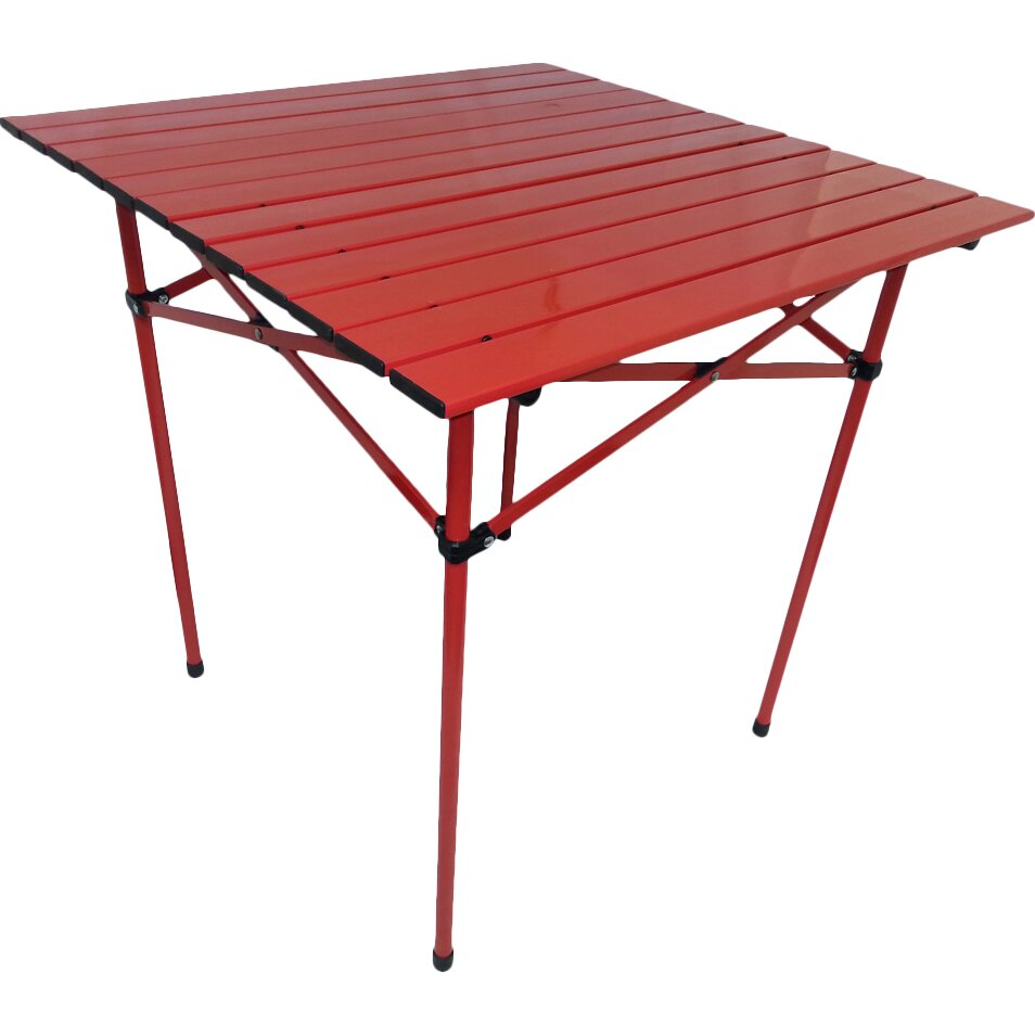 Portable Dining Table In Red Wayfair