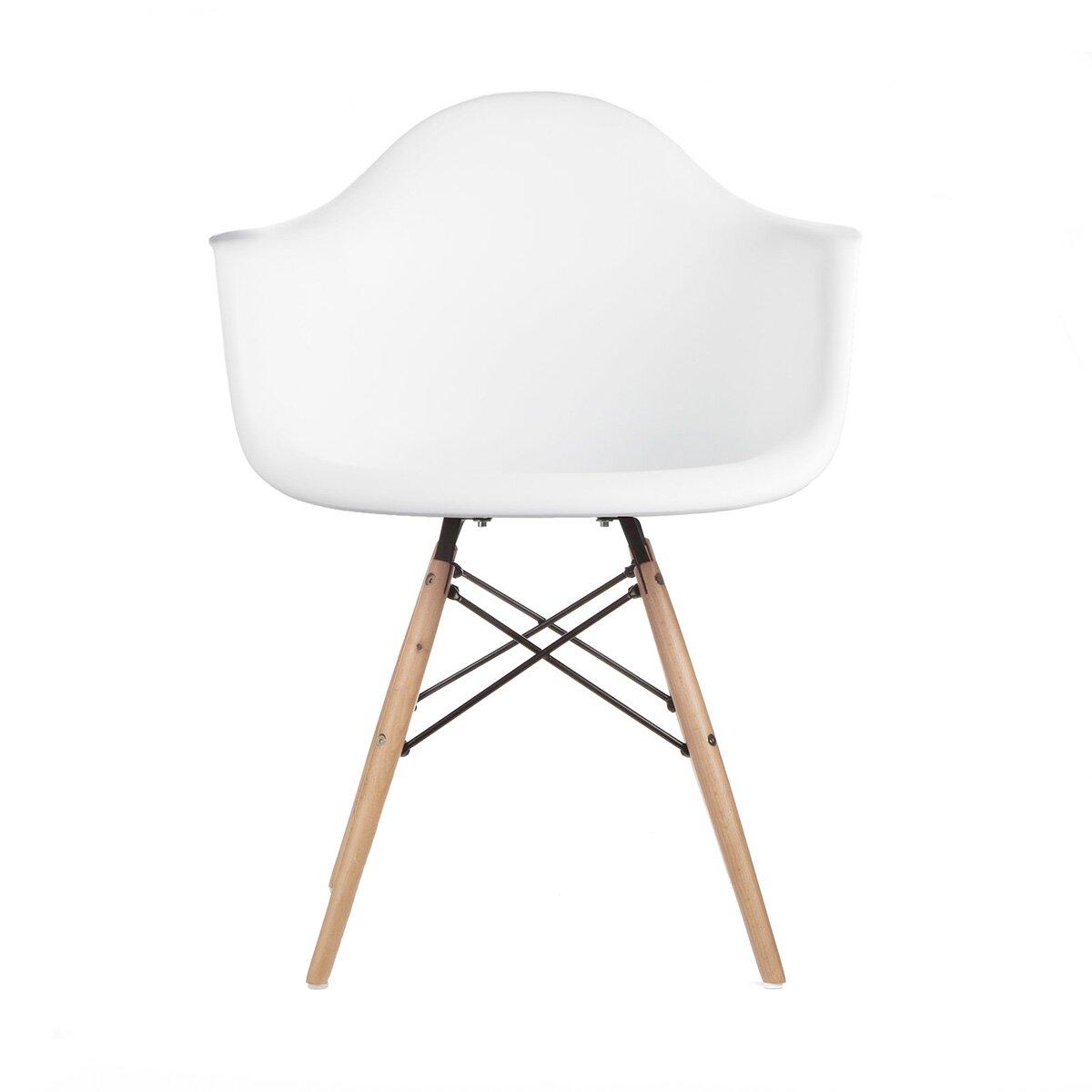 eModern Decor Mid Century Modern Scandinavian Arm Chair