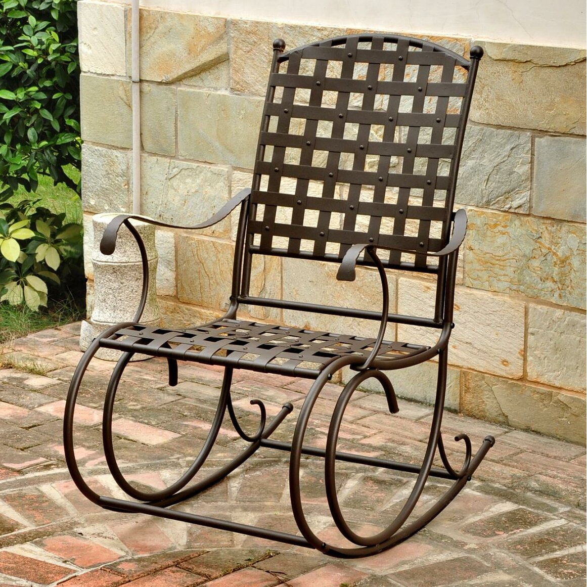 outdoor patio furniture metal patio rocking chairs international