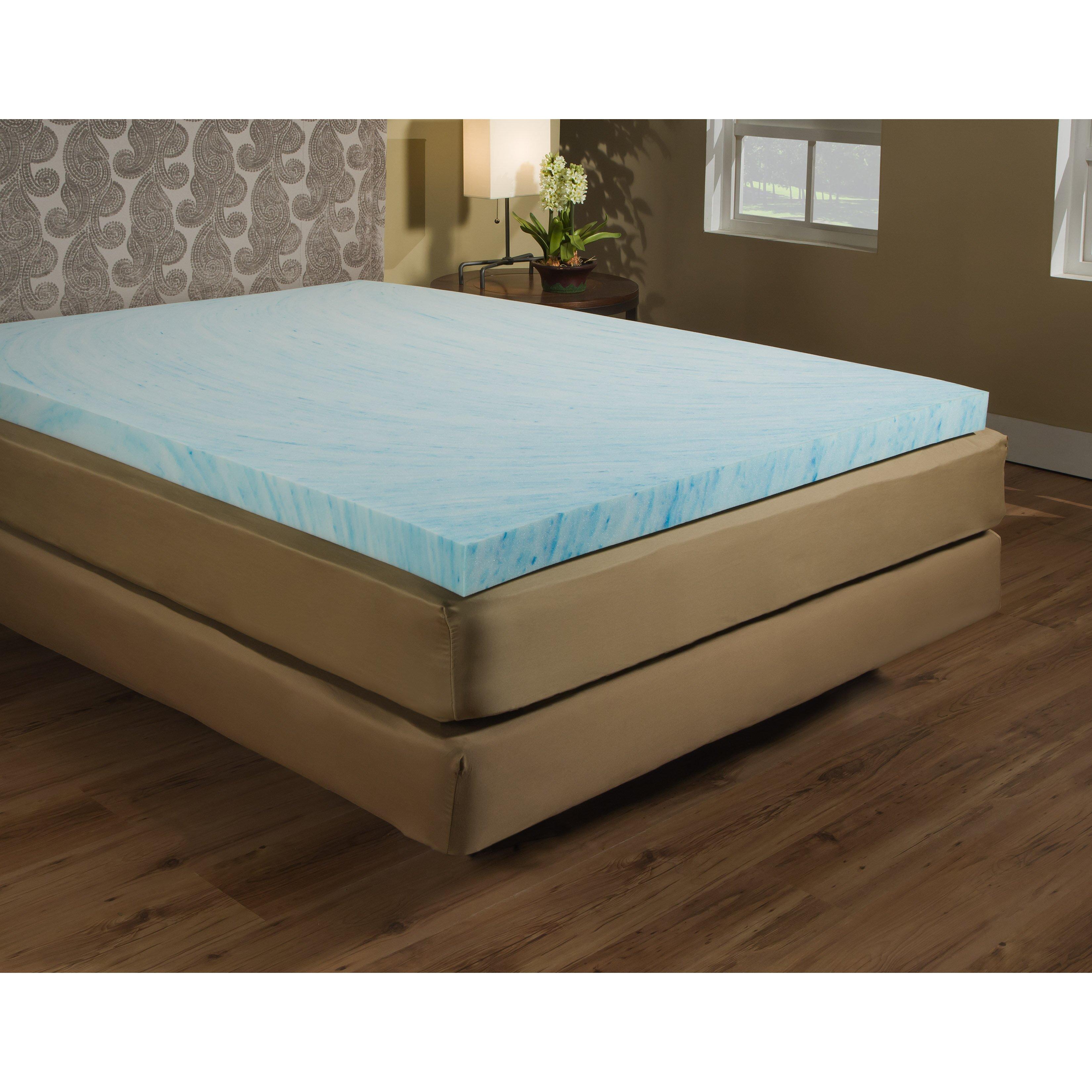 Independent Sleep 3 Quot Gel Memory Foam Mattress Topper