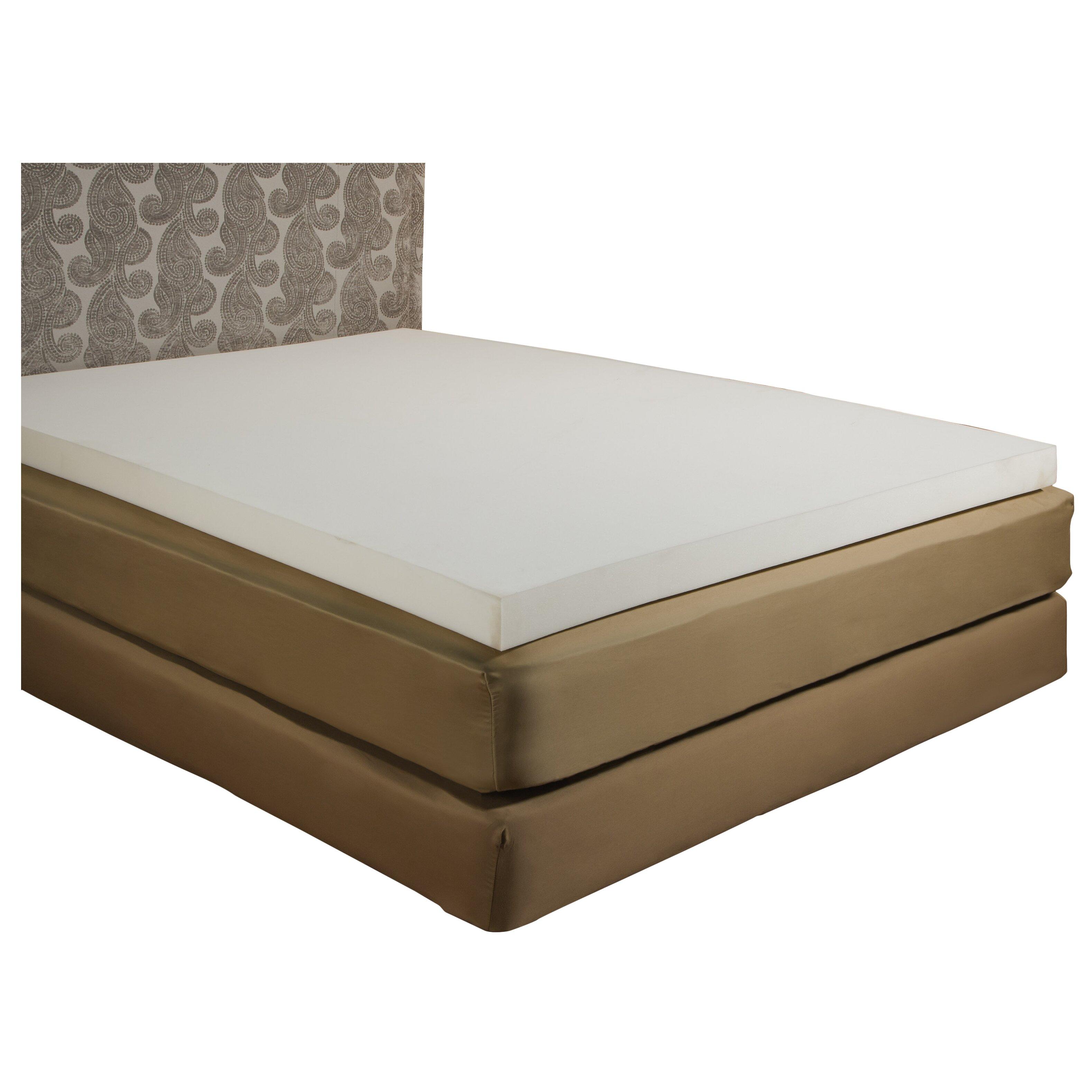 """Independent Sleep Memory Foam 3"""" Mattress Topper & Reviews"""