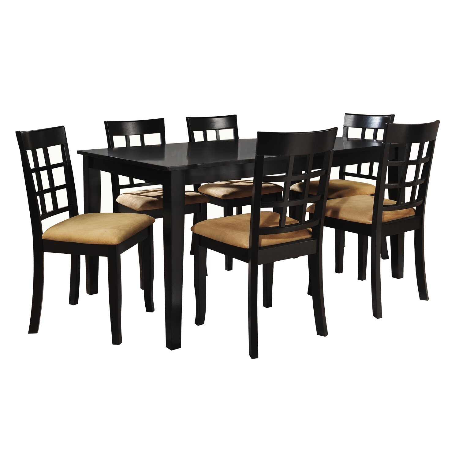 Kingstown home jeannette 7 piece dining set reviews for Furniture 7 reviews