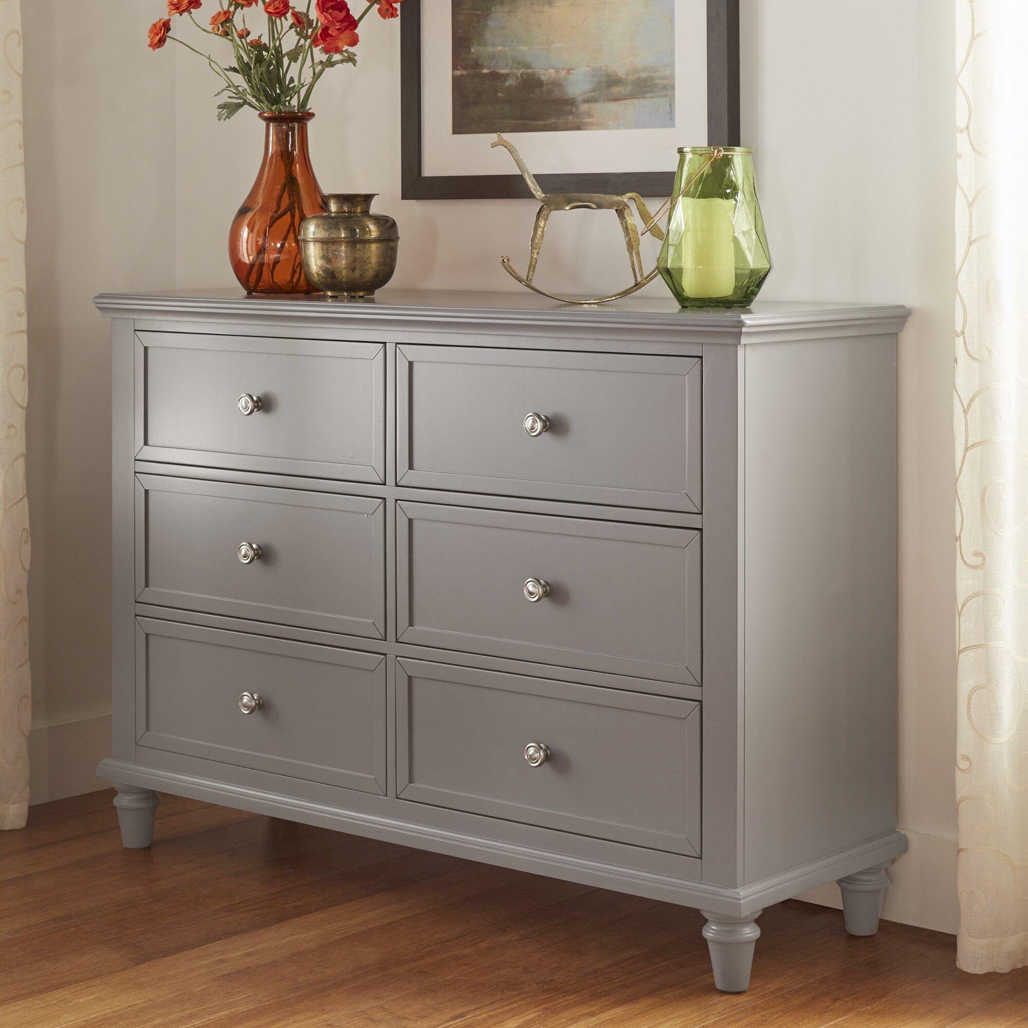 Quinn 6 Drawer Dresser Wayfair