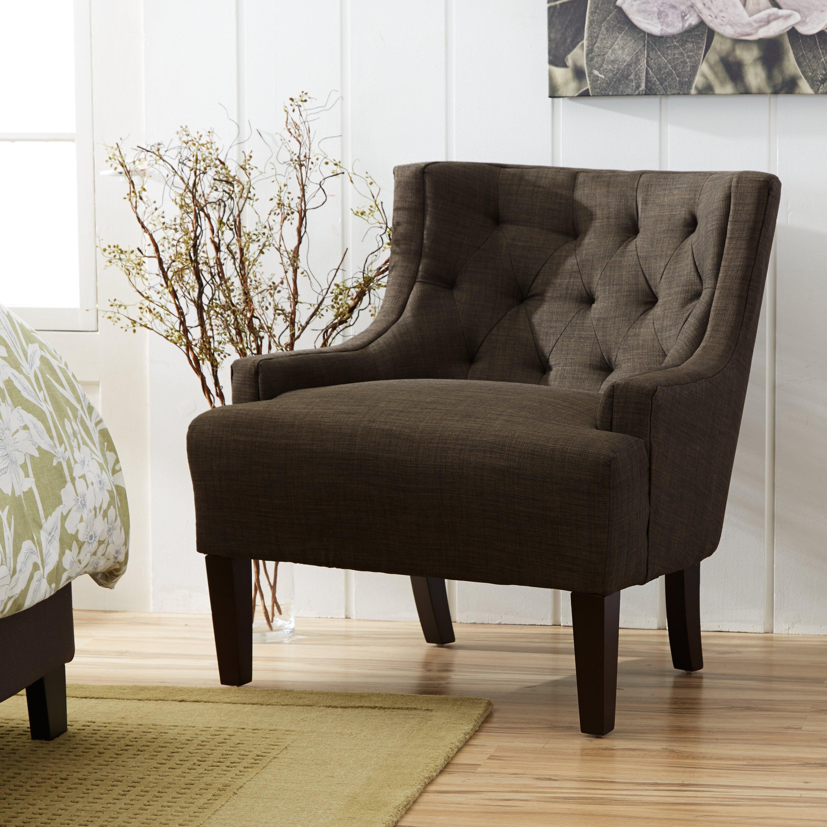 Kingstown Home Dawan Tufted Accent Arm Chair Amp Reviews