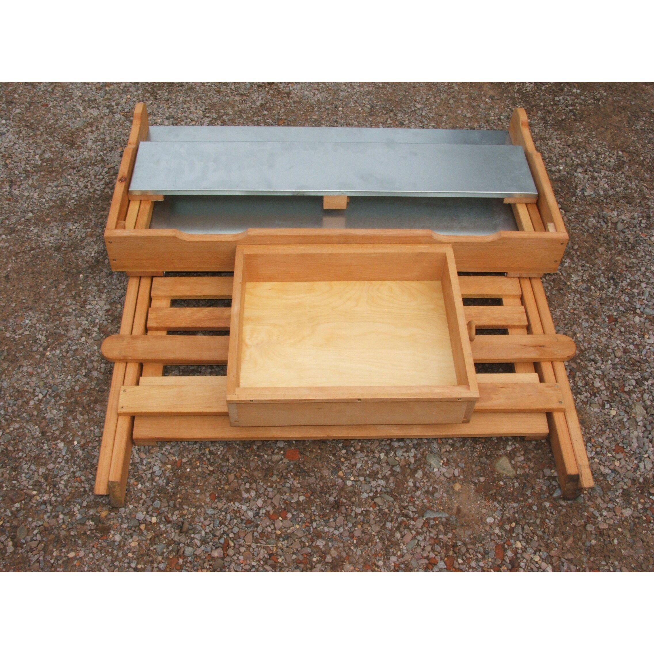 Potting 1 Seater Wooden Storage Bench Wayfair Uk