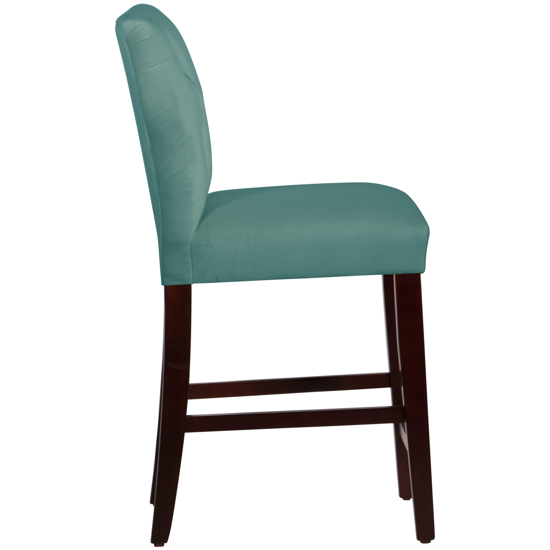 Wayfair Custom Upholstery Evelina 26quot Bar Stool amp Reviews  : Evelina 26 Bar Stool with Cushion CSTM1858 from www.wayfair.com size 3000 x 3000 jpeg 239kB