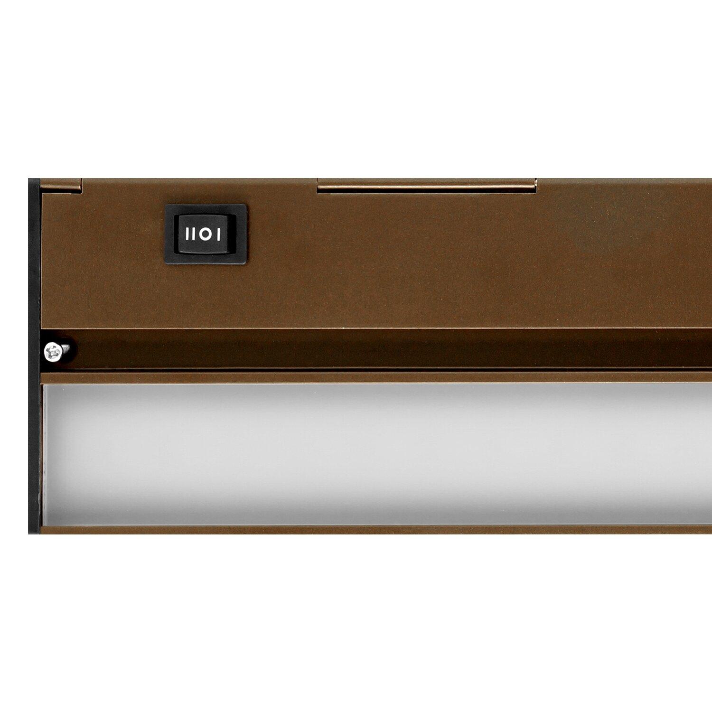 40 led under cabinet bar light wayfair. Black Bedroom Furniture Sets. Home Design Ideas