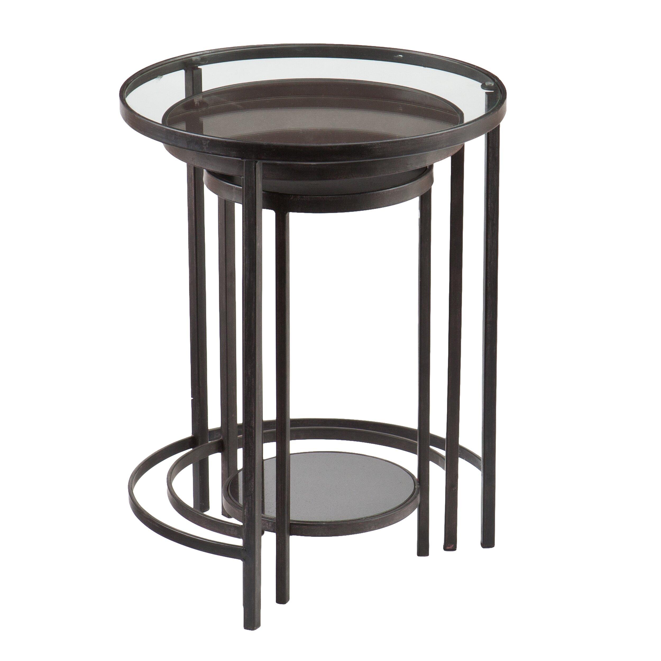 Ocelle 3 Piece Nesting Table Set Wayfair