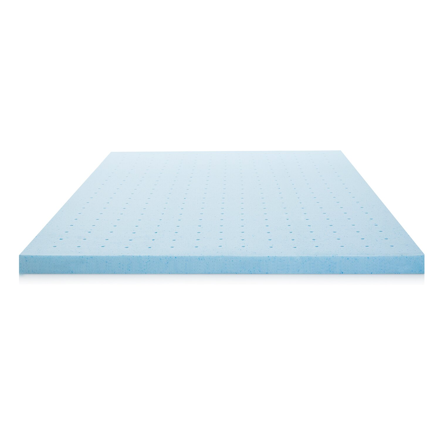 "Lucid 2 5"" Ventilated Memory Foam Mattress Topper"