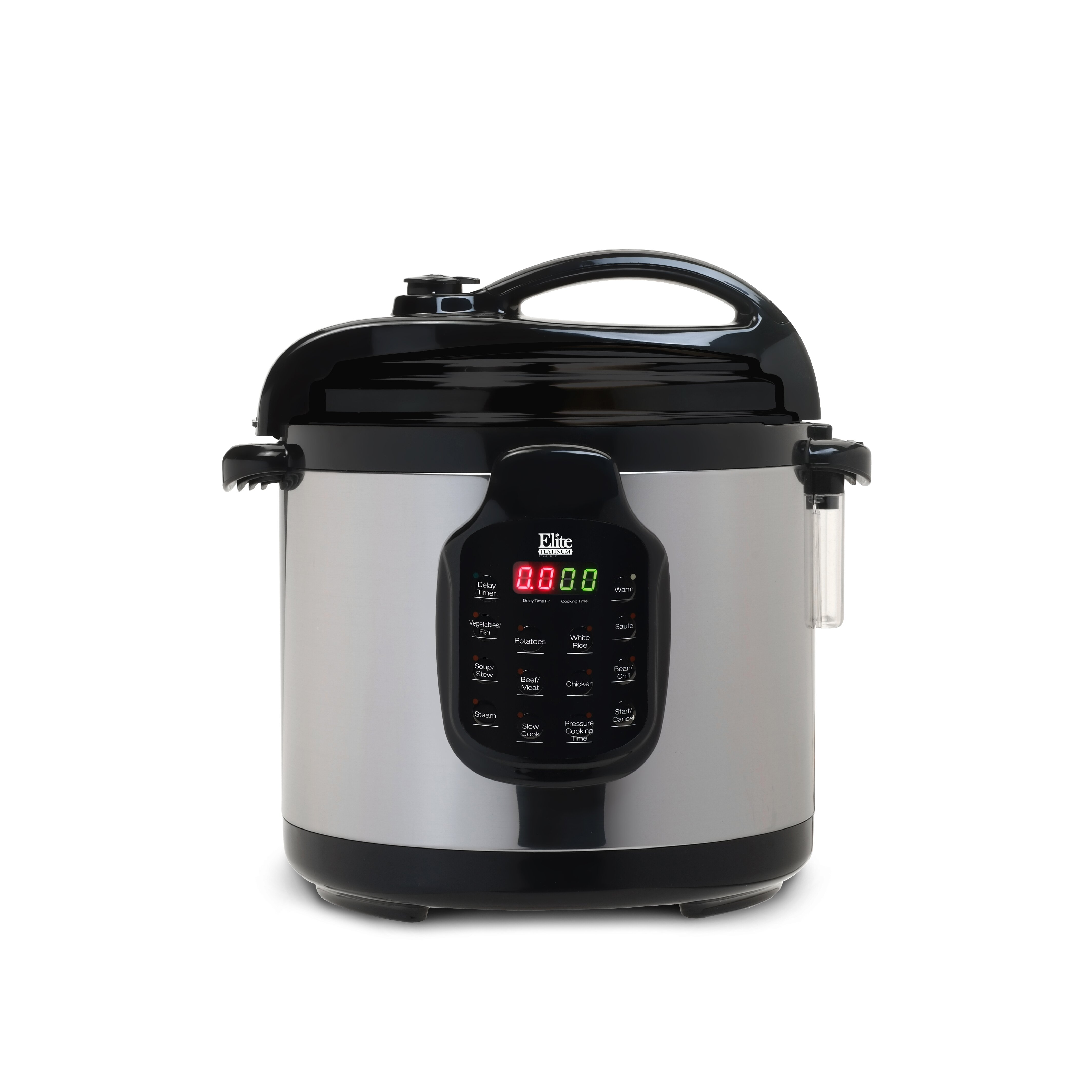 platinum 6 quart electric stainless steel pressure cooker with stainless steel pot wayfair. Black Bedroom Furniture Sets. Home Design Ideas