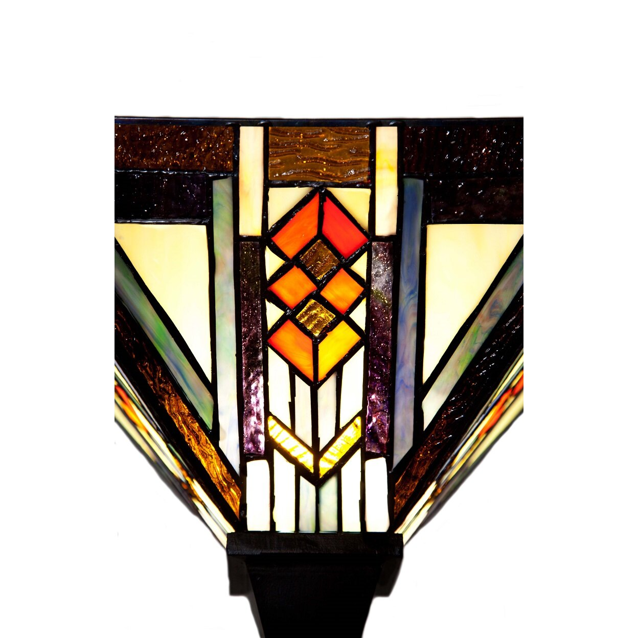 river of goods southwestern mission style stained glass 70. Black Bedroom Furniture Sets. Home Design Ideas