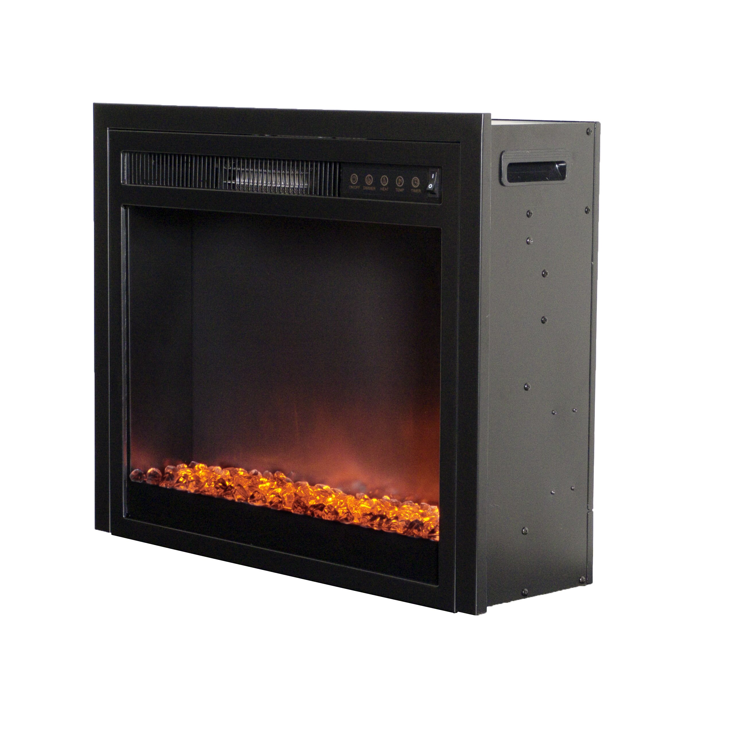 corliving electric fireplace insert reviews