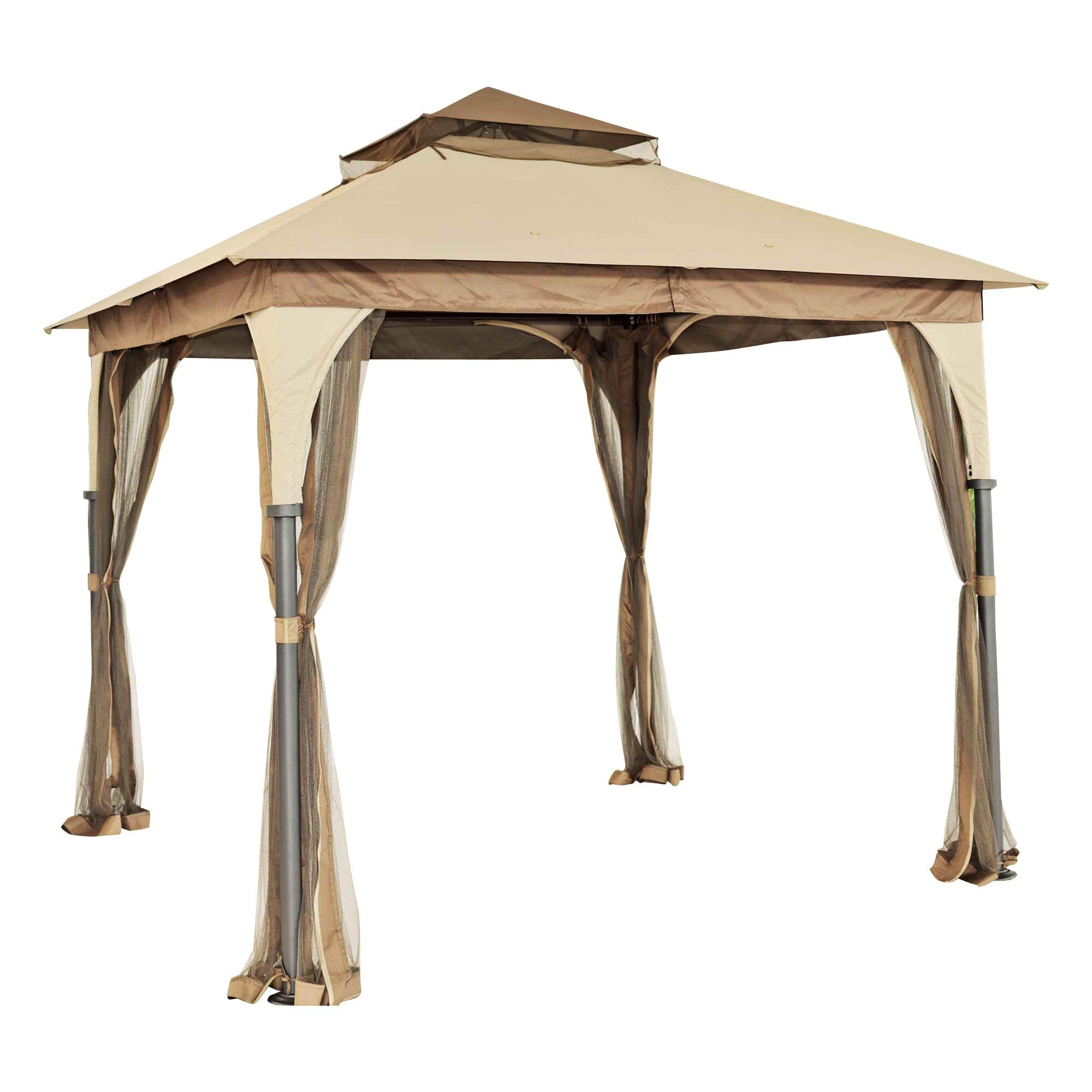 Outdoor outdoor shades amp structures metal gazebos sunjoy sku
