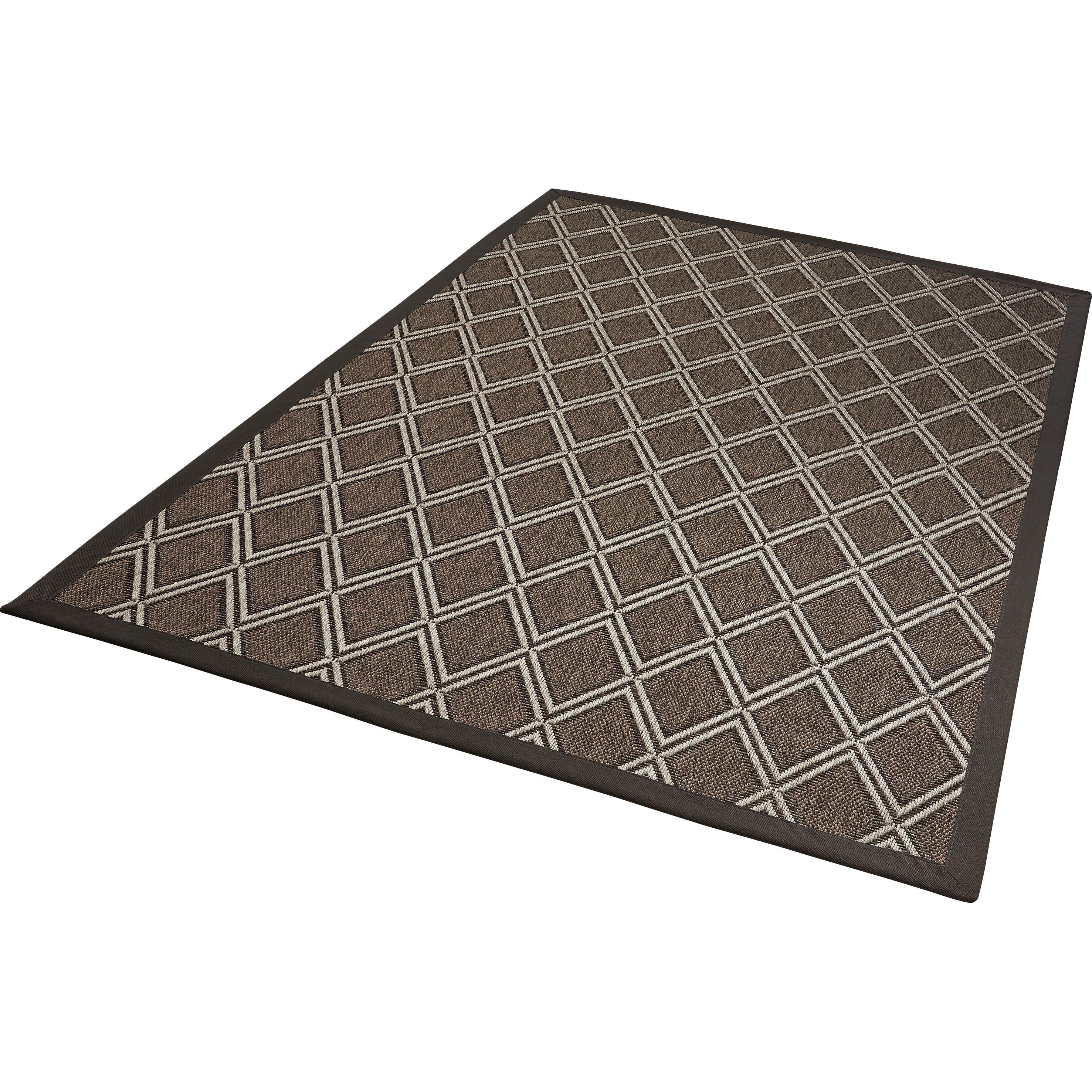 au enteppich naturino rhombus a2 in anthrazit von manufacturer. Black Bedroom Furniture Sets. Home Design Ideas