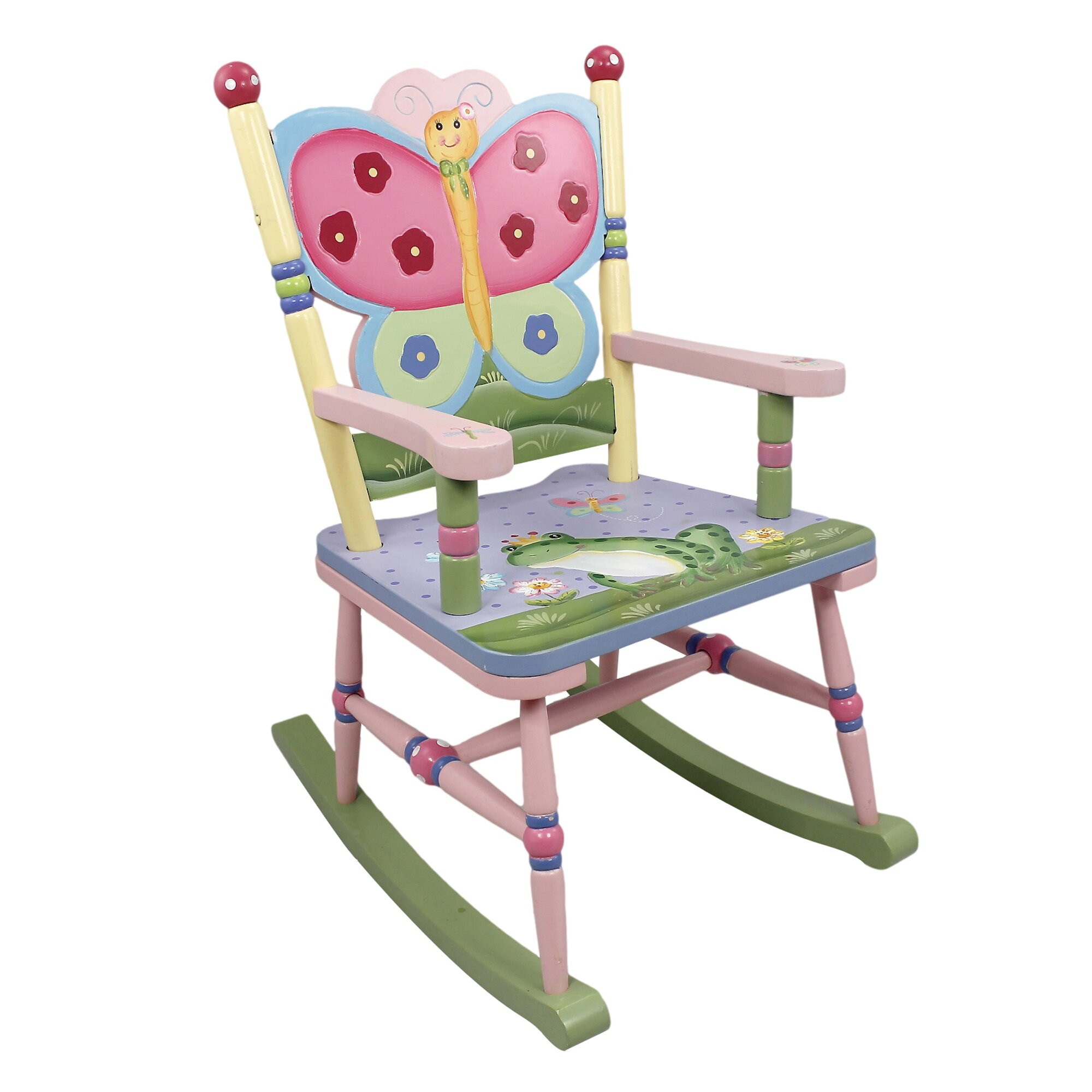 Magic Garden Table And Chair Set: Magic Garden Kids Rocking Chair