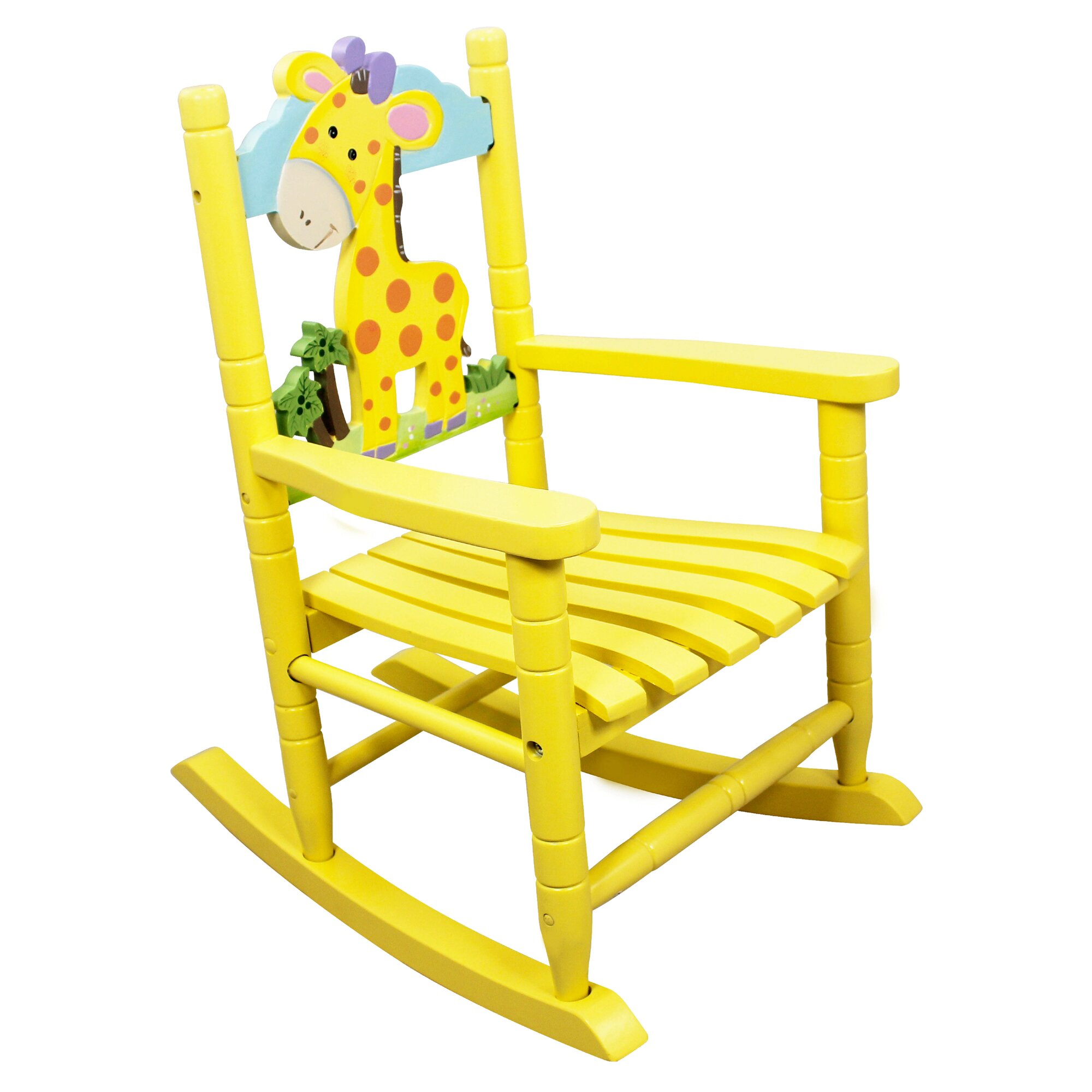 animal inspiration kids rocking chair by fantasy fields