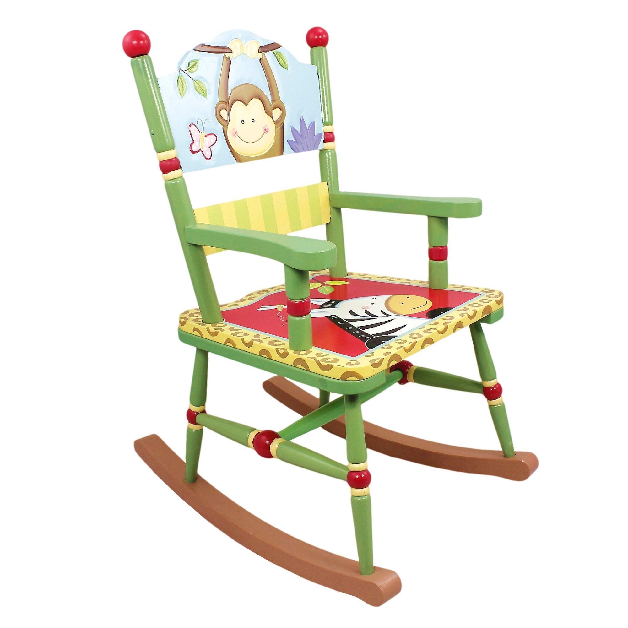 Sunny Safari Kids Rocking Chair by Fantasy Fields