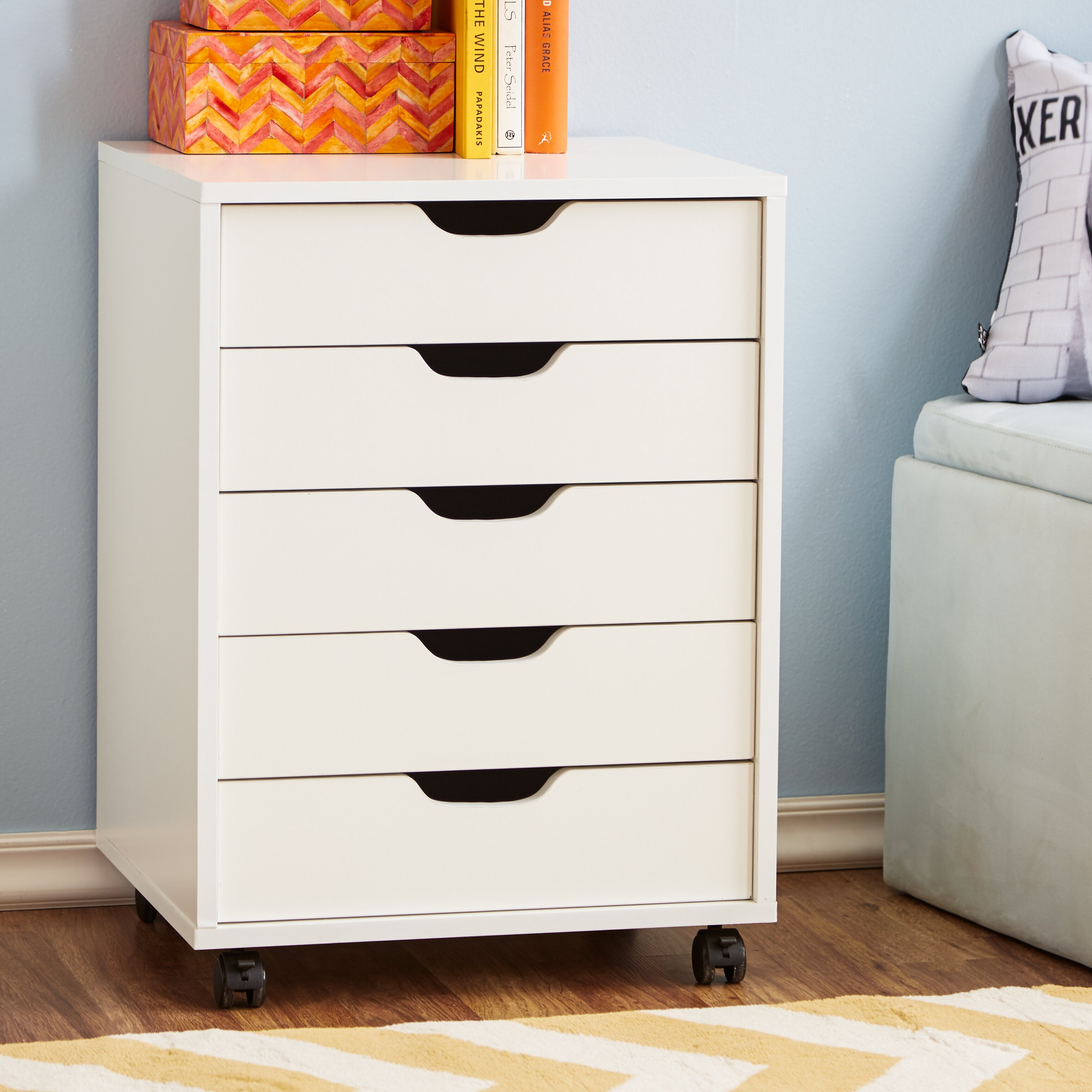 Crib for sale halifax - Zipcode Design Riley 5 Drawer Halifax Mobile Cabinet Amp Reviews