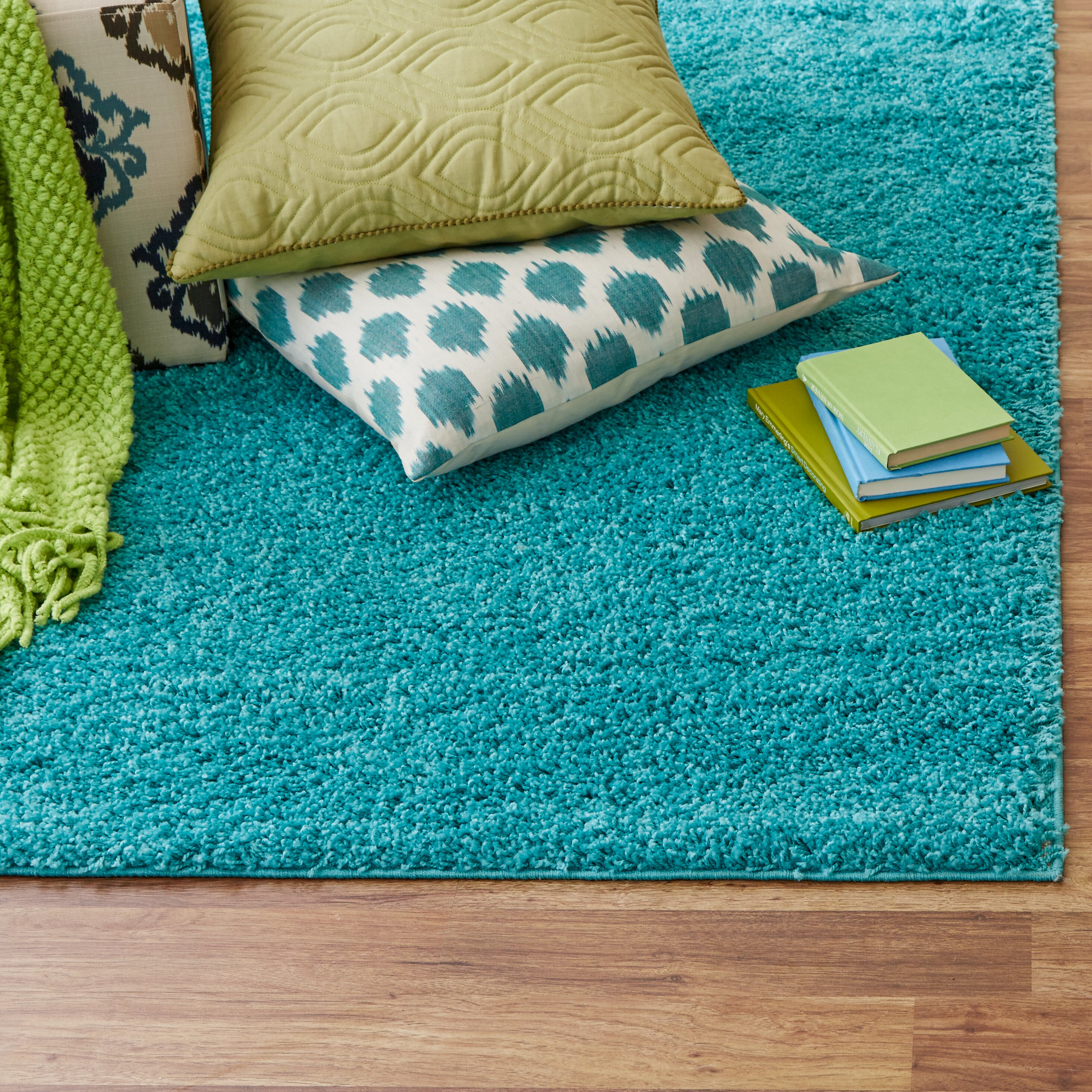 San Juan Turquoise Accent Rug: Zipcode™ Design Alexis Turquoise Area Rug & Reviews