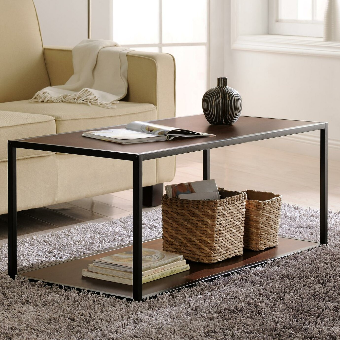 Zipcode™ Design Clarissa Industrial Coffee Table & Reviews